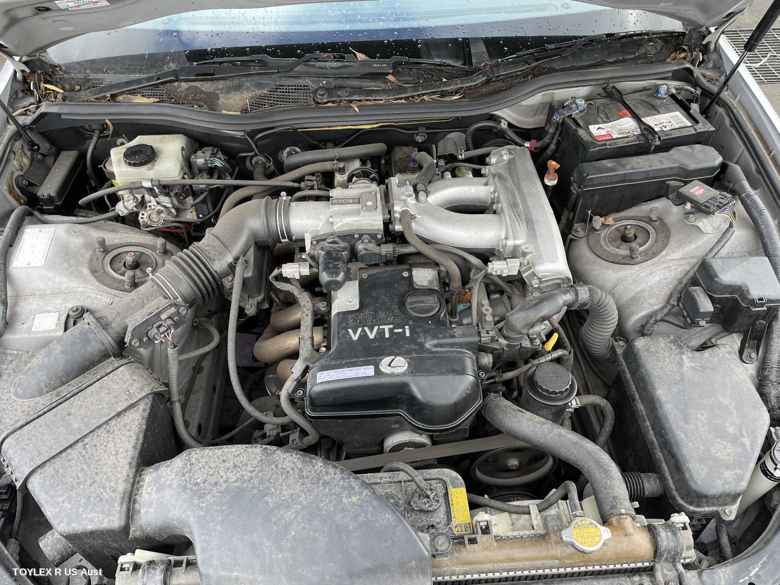 LEXUS GS, Engine, PETROL, 3.0, 2JZ-GTE, VVT-i, NON TURBO, 10/97-12/04