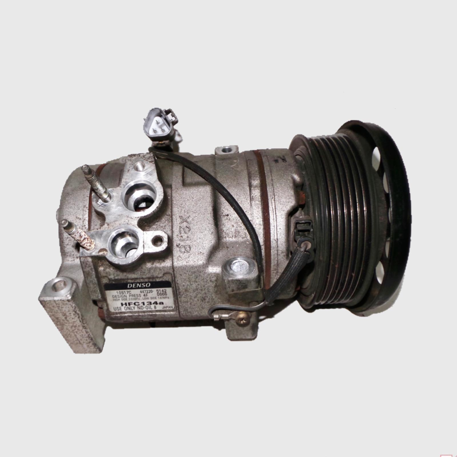 TOYOTA PRADO, A/C Compressor, 120 SERIES, 4.0, 1GR-FE, PETROL, 10S17C X218, 02/03-10/09