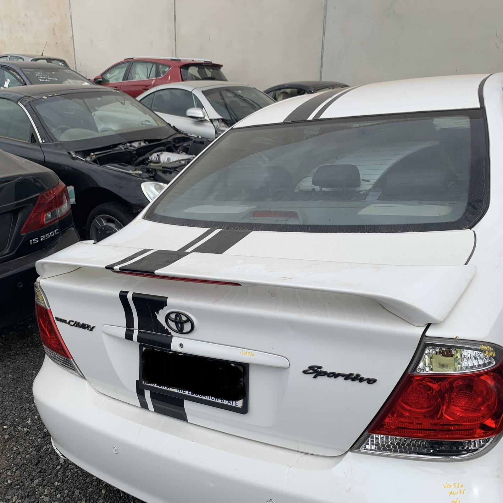 TOYOTA CAMRY, Bootlid/Tailgate, BOOTLID, SK36, SPOILERED TYPE, 08/02-08/04