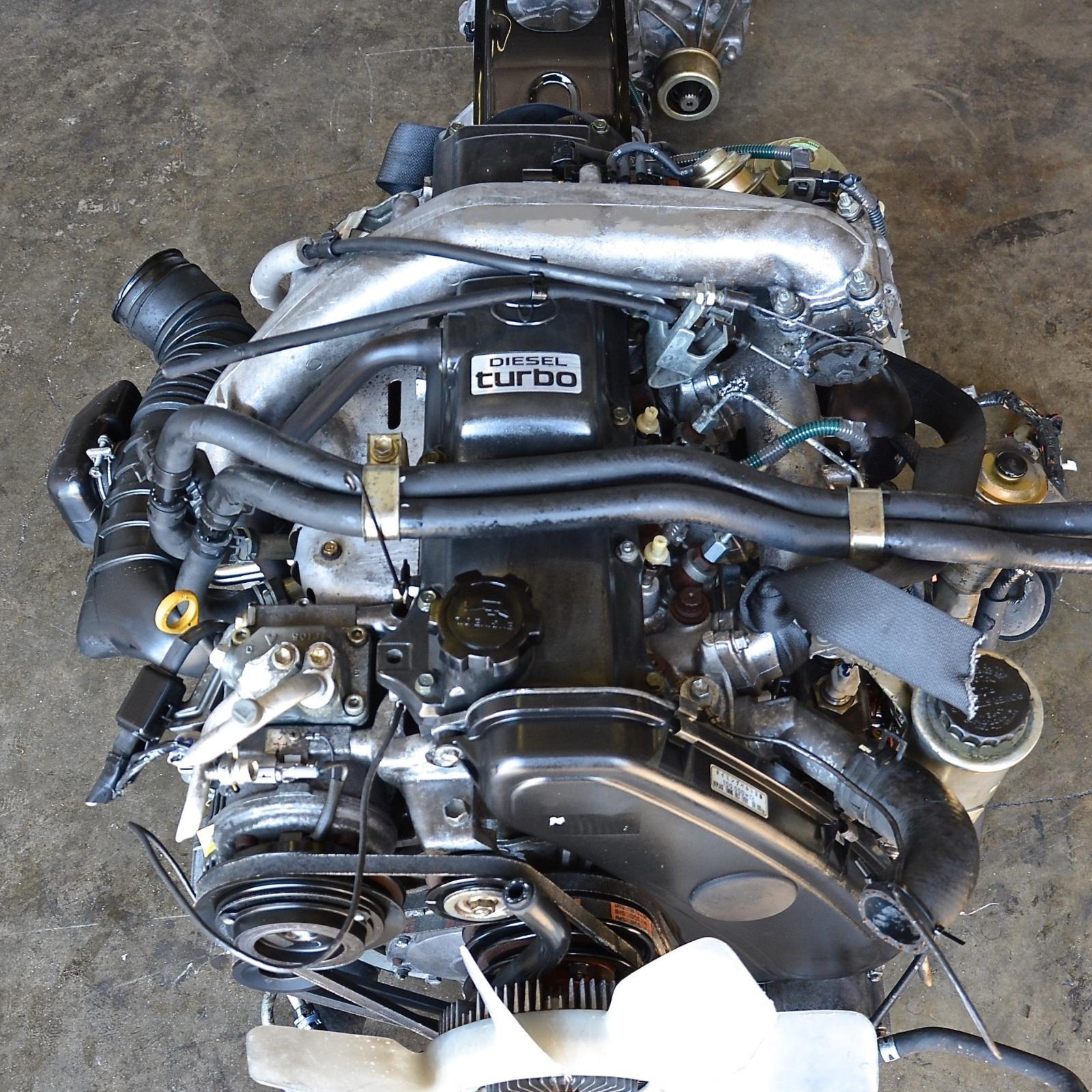 TOYOTA HILUX, Engine, DIESEL, 3.0, 1KZ-TE, TURBO, 4WD, 09/97-03/05