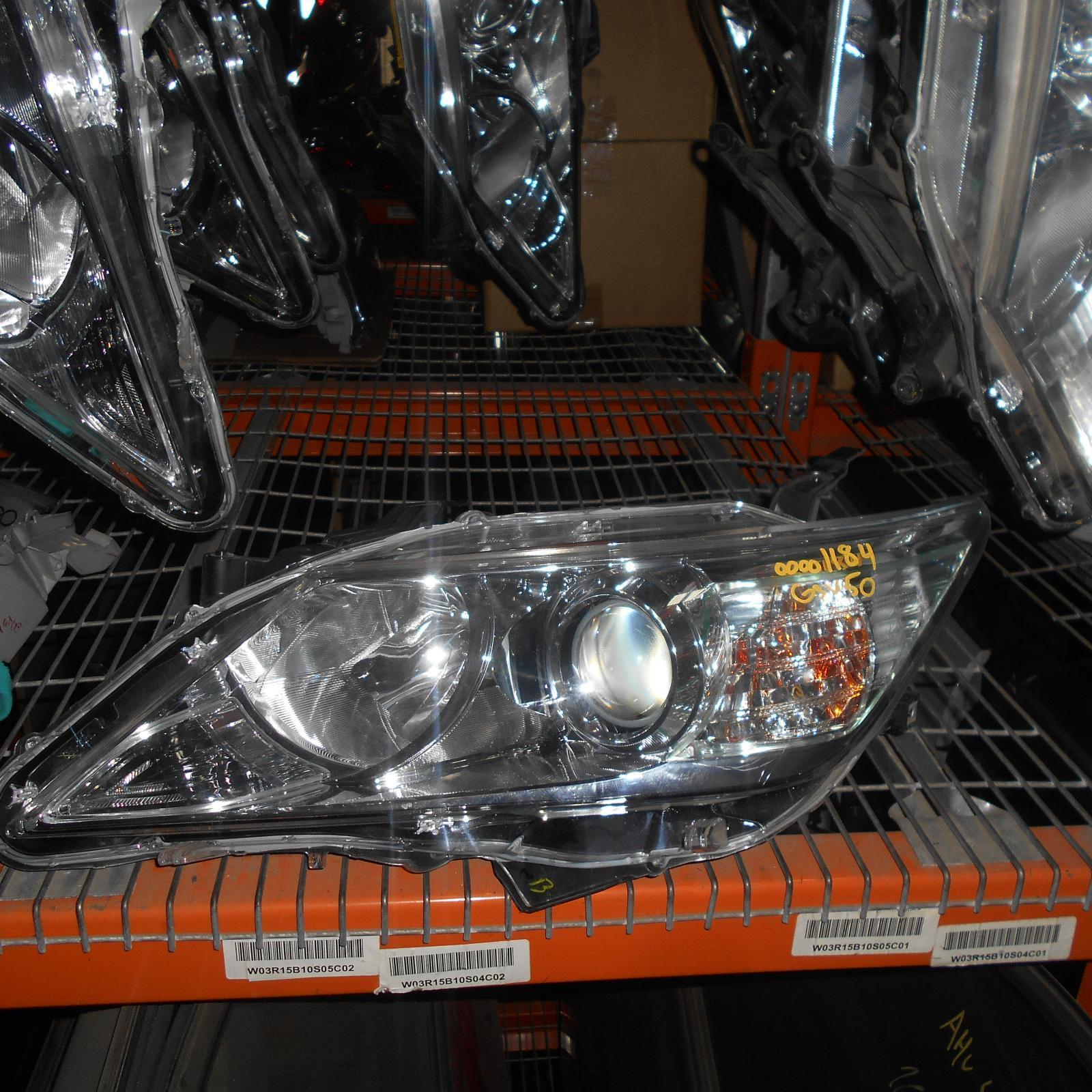TOYOTA AURION, Left Headlamp, GSV50R, HALOGEN TYPE, 04/12-08/17