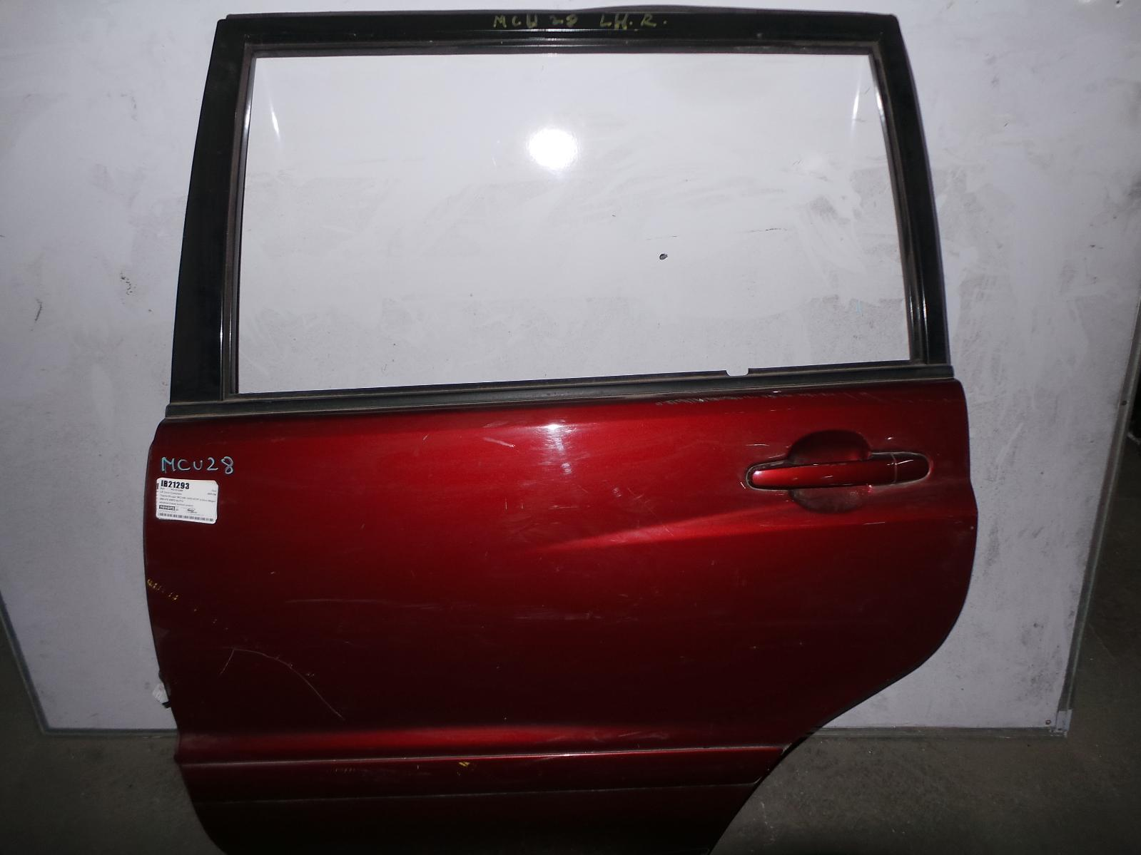 TOYOTA KLUGER, Left Rear Door/Sliding, MCU28R, 01/01-04/07
