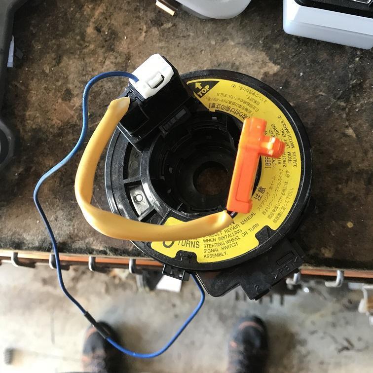 TOYOTA COROLLA, Airbag Module/Sensor, CLOCKSPRING, ZZE122 (JAPAN-VIN JTD), 06/04-04/07