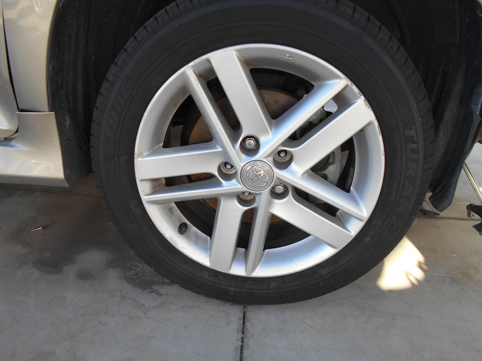 TOYOTA CAMRY, Wheel Mag, FACTORY, 17X7IN, ACV50, ATARA/HYBRID HL, 12/11-05/15
