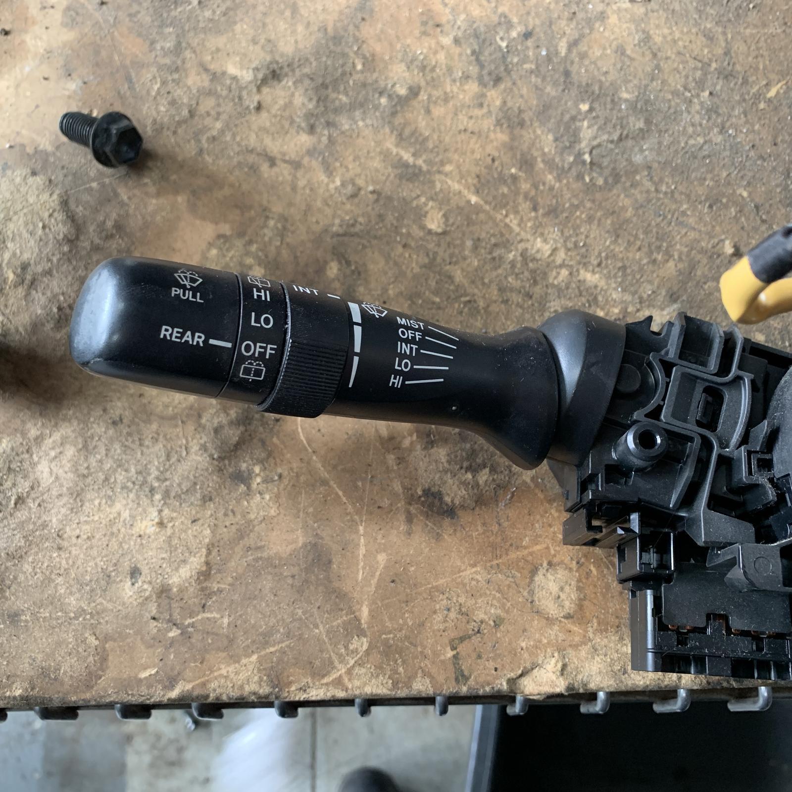 TOYOTA COROLLA, Combination Switch, WIPER SWITCH, ZRE152/153R, NON RAIN SENSOR TYPE, 03/07-10/13