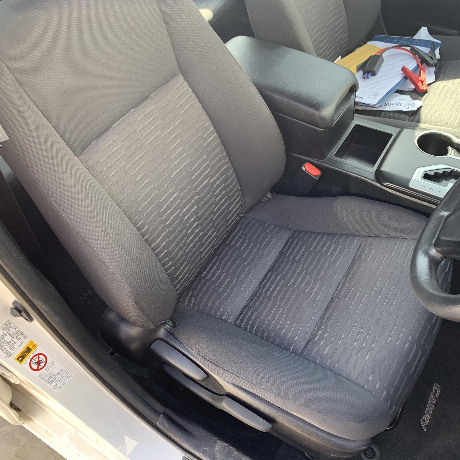 TOYOTA CAMRY, Front Seat, RH FRONT, CLOTH, ALTISE/RZ/ATARA R, ACV50, 12/11-10/17