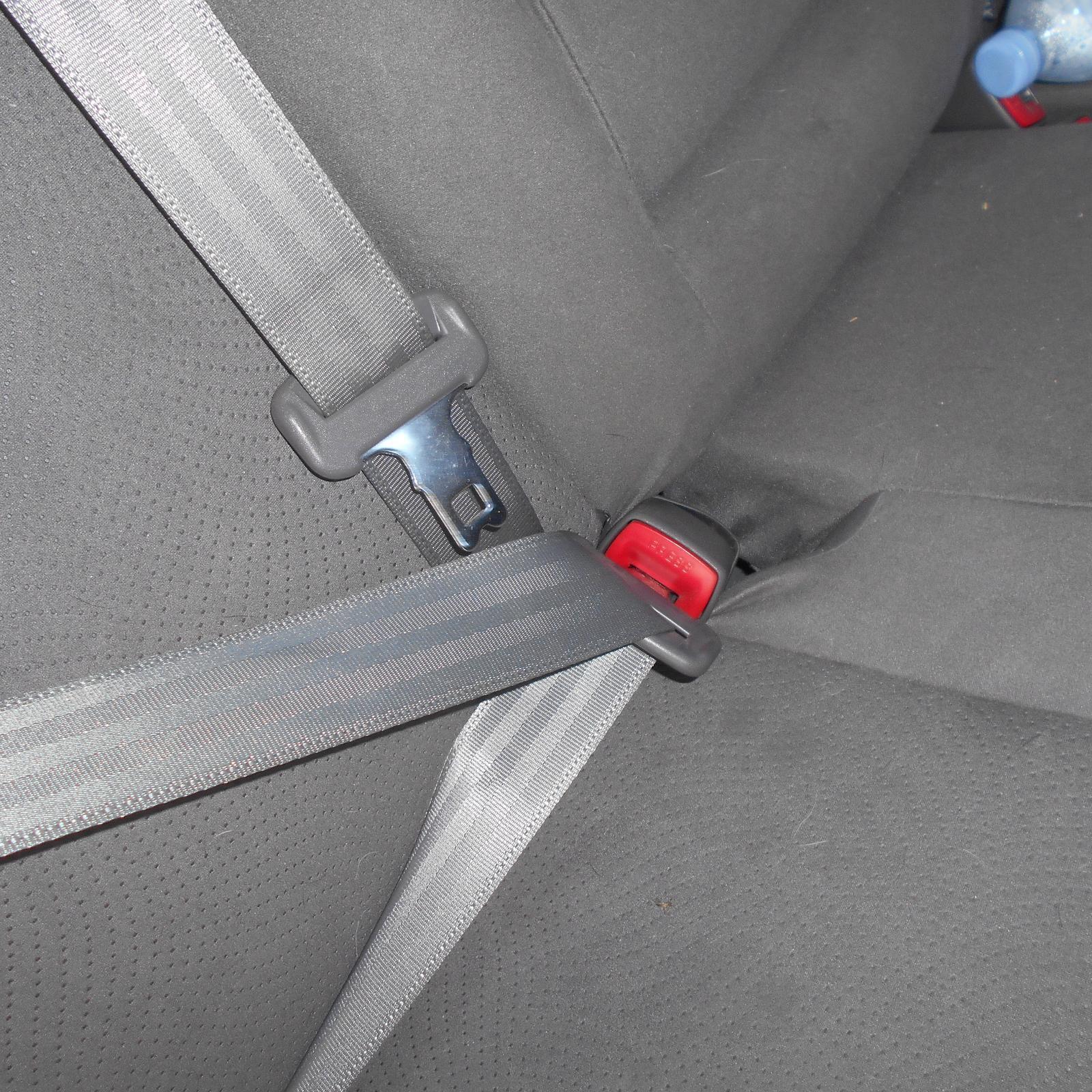 TOYOTA PRIUS, Seatbelt/Stalk, RH REAR, SEAT BELT ONLY, ZVW30R, 07/09-12/15
