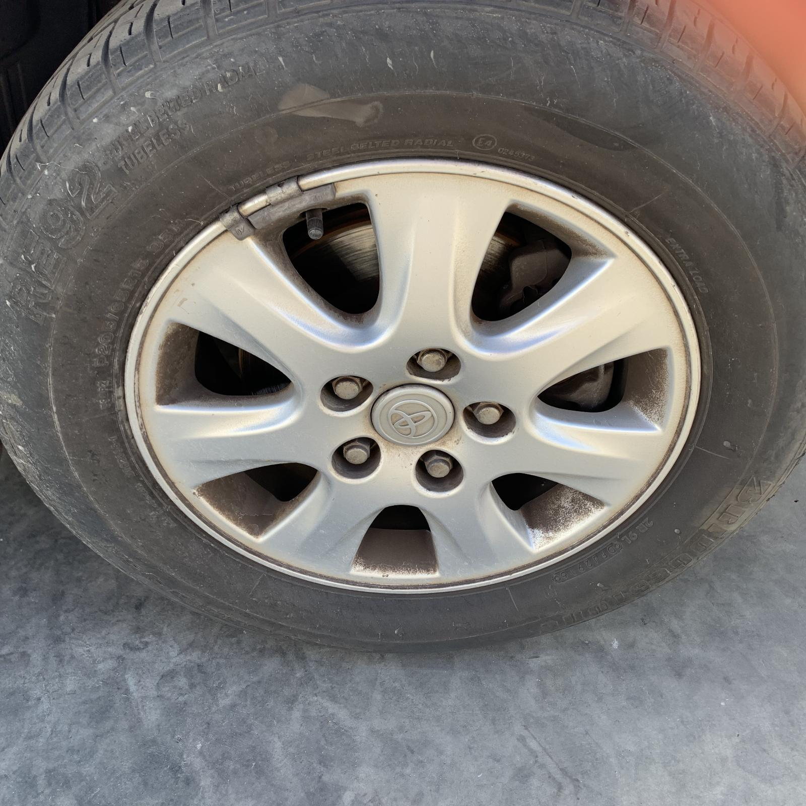 TOYOTA CAMRY, Wheel Mag, FACTORY, 15X6.0IN, SK36, 7 SPOKE, 08/02-05/06