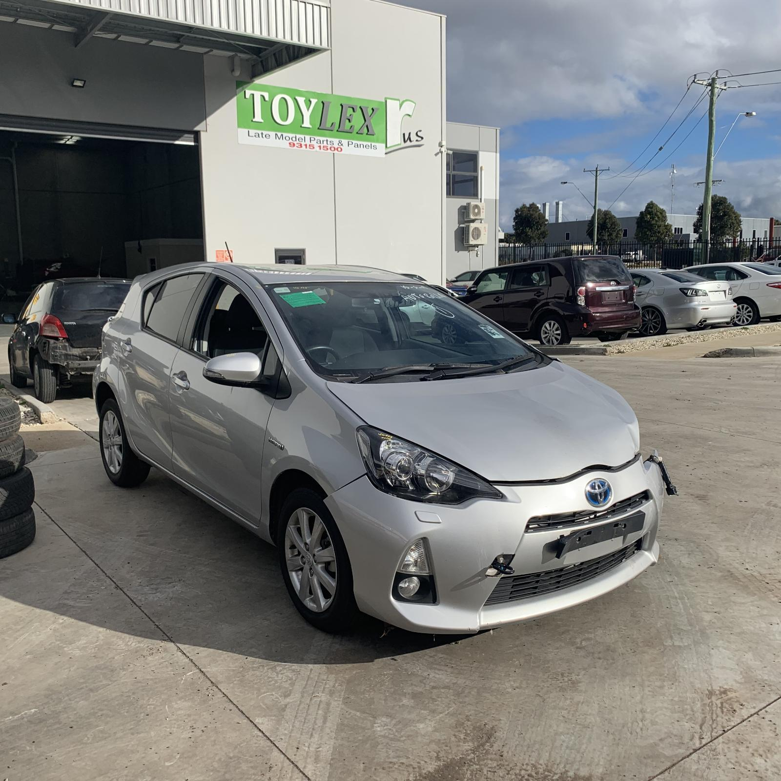 Toyota PRIUS C 1NZ-FXE 1.5L Engine Automatic FWD Transmission 03/12 - Current