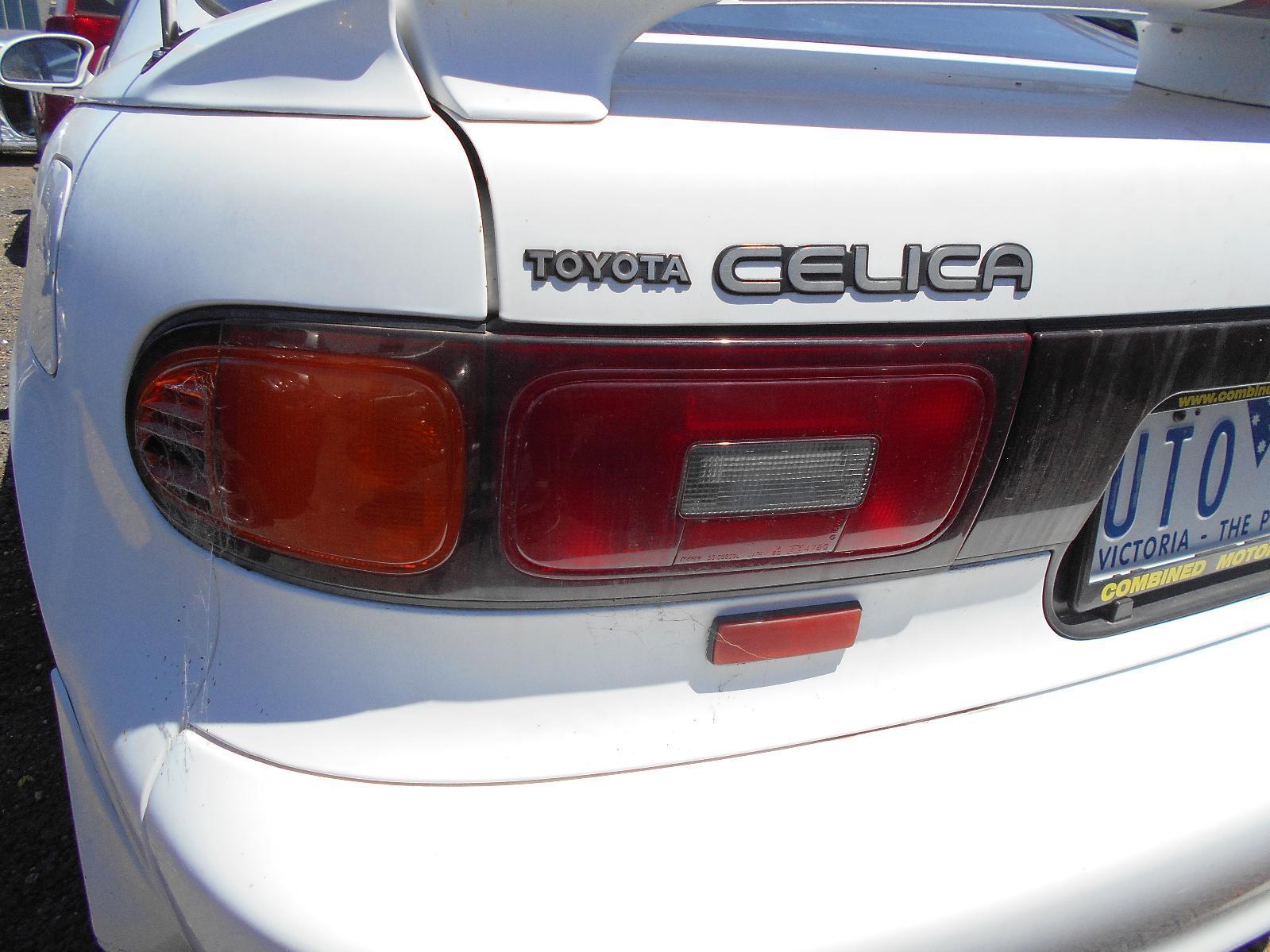 TOYOTA CELICA, Left Taillight, ST184 3DR HATCH 10/91-02/94
