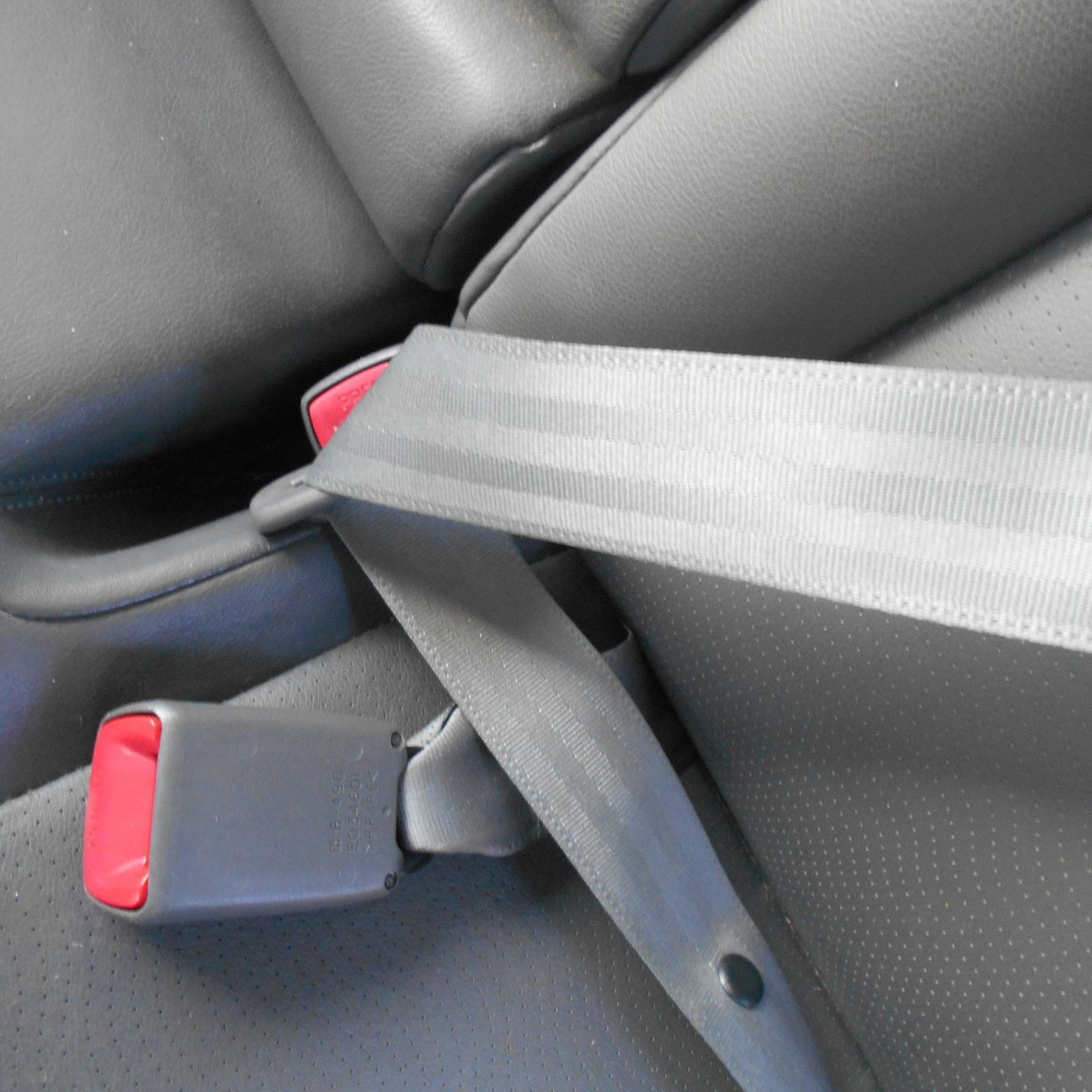 TOYOTA PRIUS, Seatbelt/Stalk, LH REAR, SEAT BELT ONLY, ZVW30R, 07/09-12/15