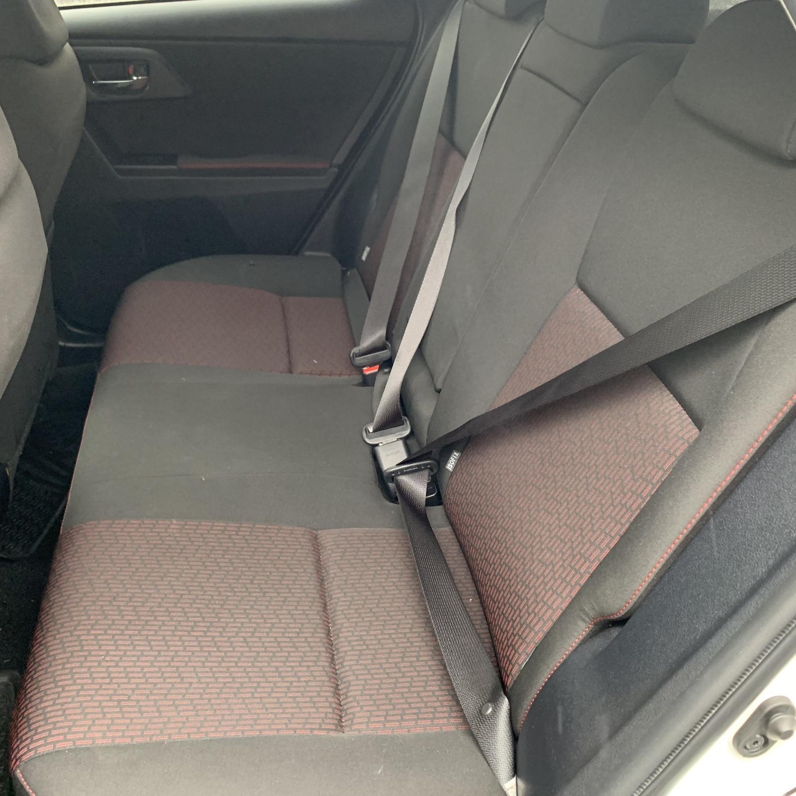 TOYOTA COROLLA, 2nd Seat (Rear Seat), LH REAR, HATCH, ZRE182R, CLOTH, SX, 10/12-03/15