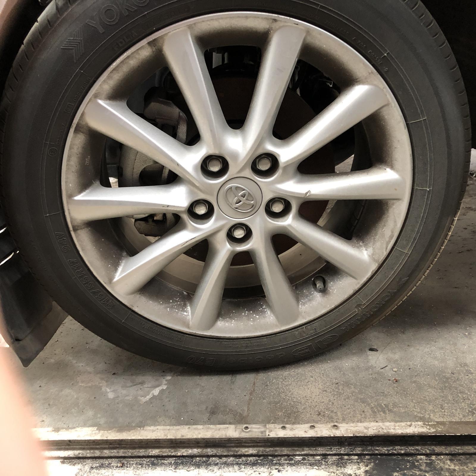 TOYOTA TARAGO, Wheel Mag, FACTORY, 17X7IN, 10 SPOKE, ACR50R, 02/09-