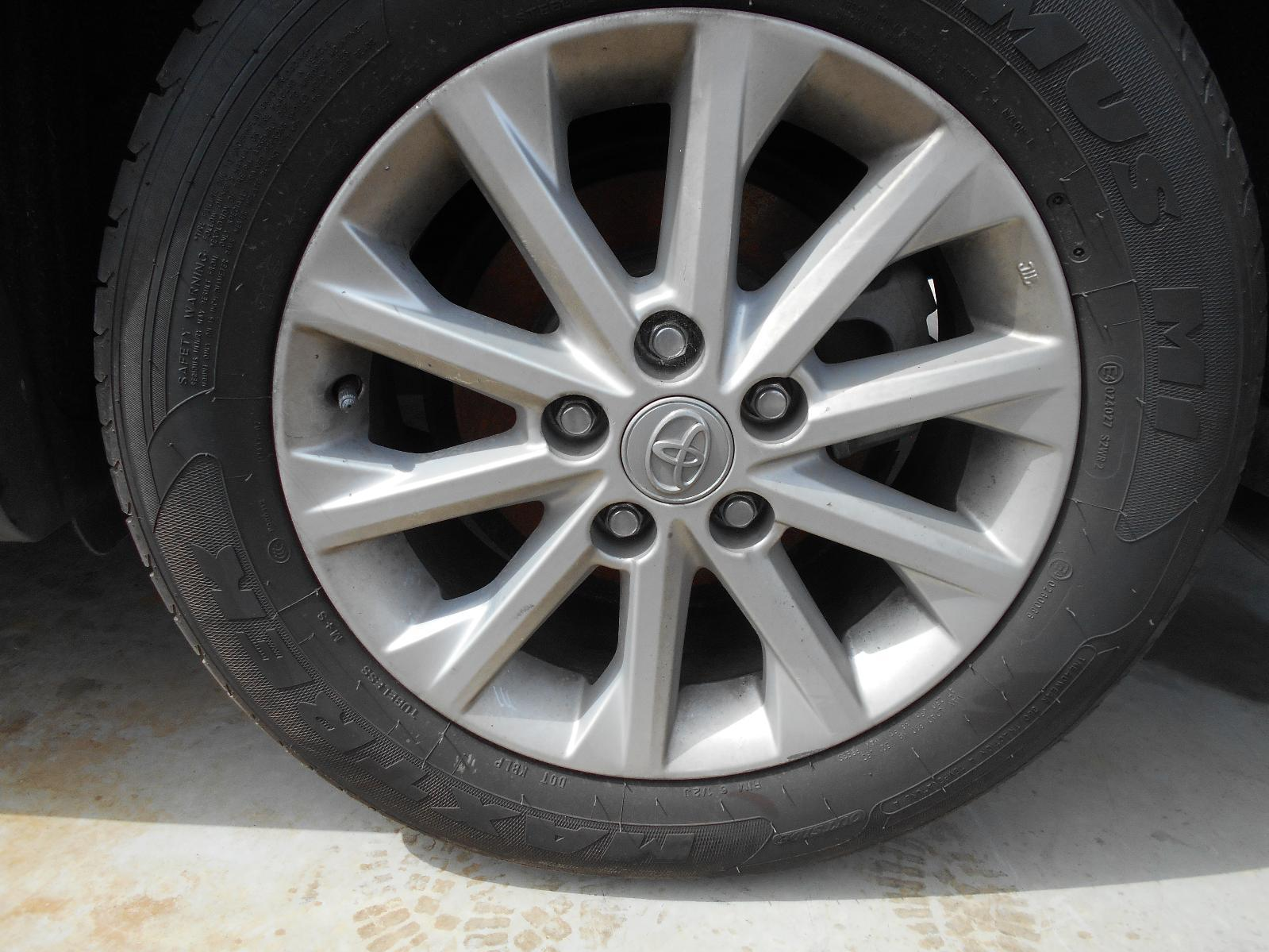 TOYOTA CAMRY, Wheel Mag, FACTORY, 16X6.5IN, ACV50, ALTISE/HYBRID H, 12/11-05/15