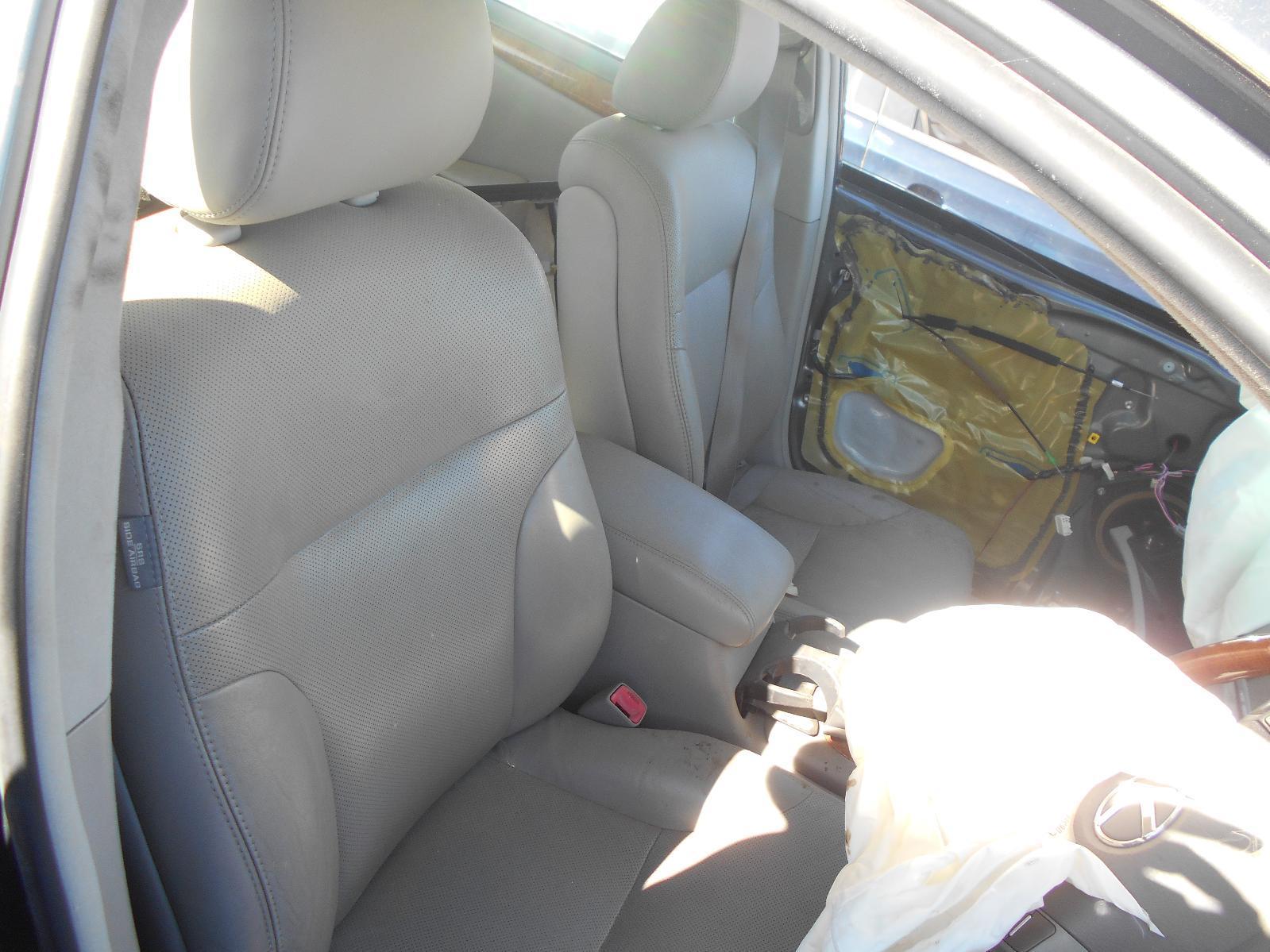 LEXUS ES300, Front Seat, RH FRONT, LEATHER, GREY, MCV30, 10/01-12/05