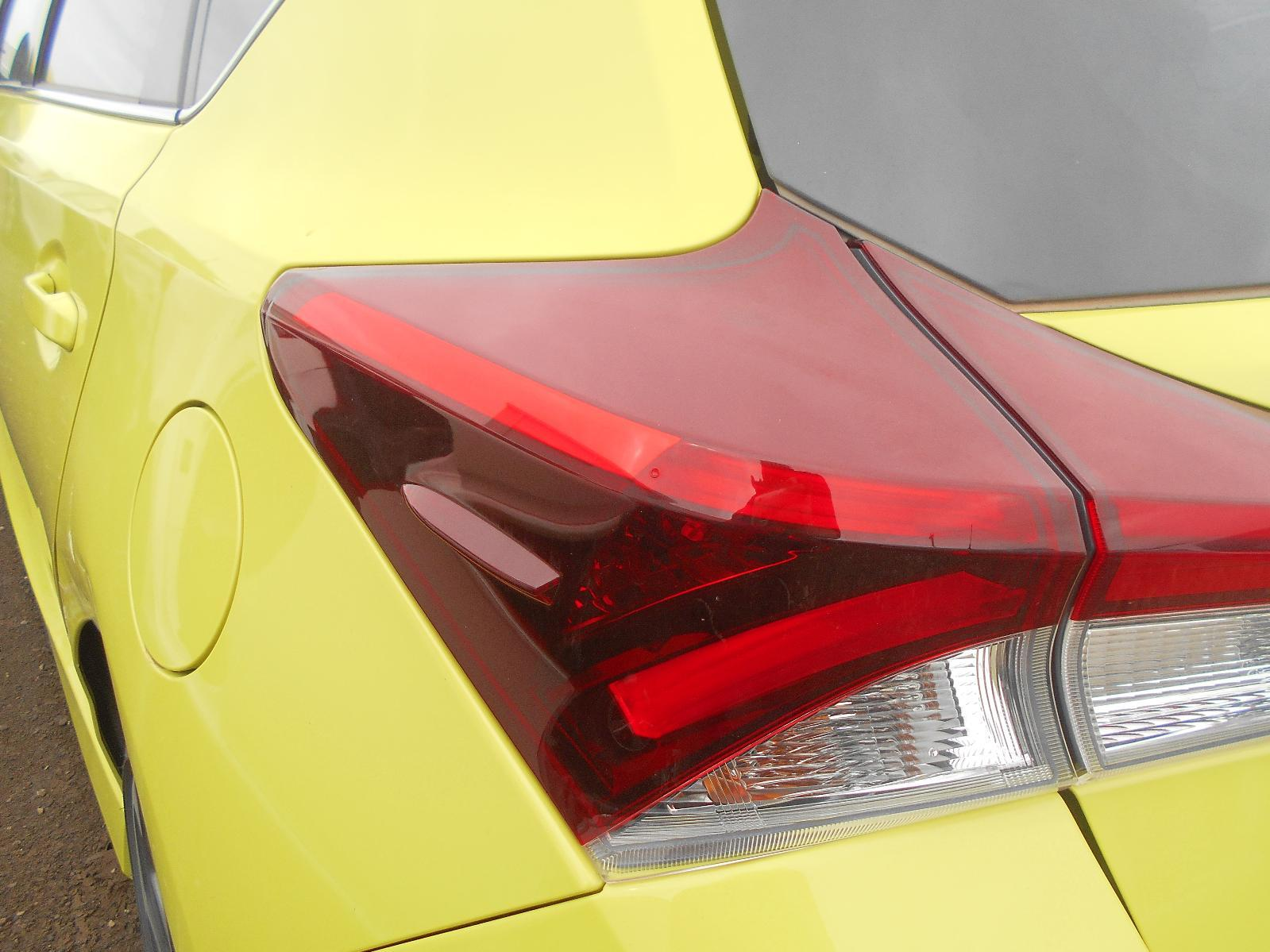 TOYOTA COROLLA, Left Taillight, ZRE182R/ZWE186R, HATCH, 03/15-