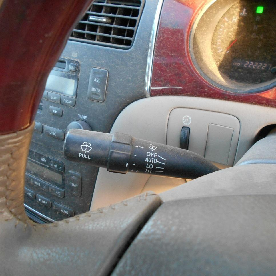 LEXUS ES300, Combination Switch, MCV30, WIPER SWITCH, 10/01-12/05