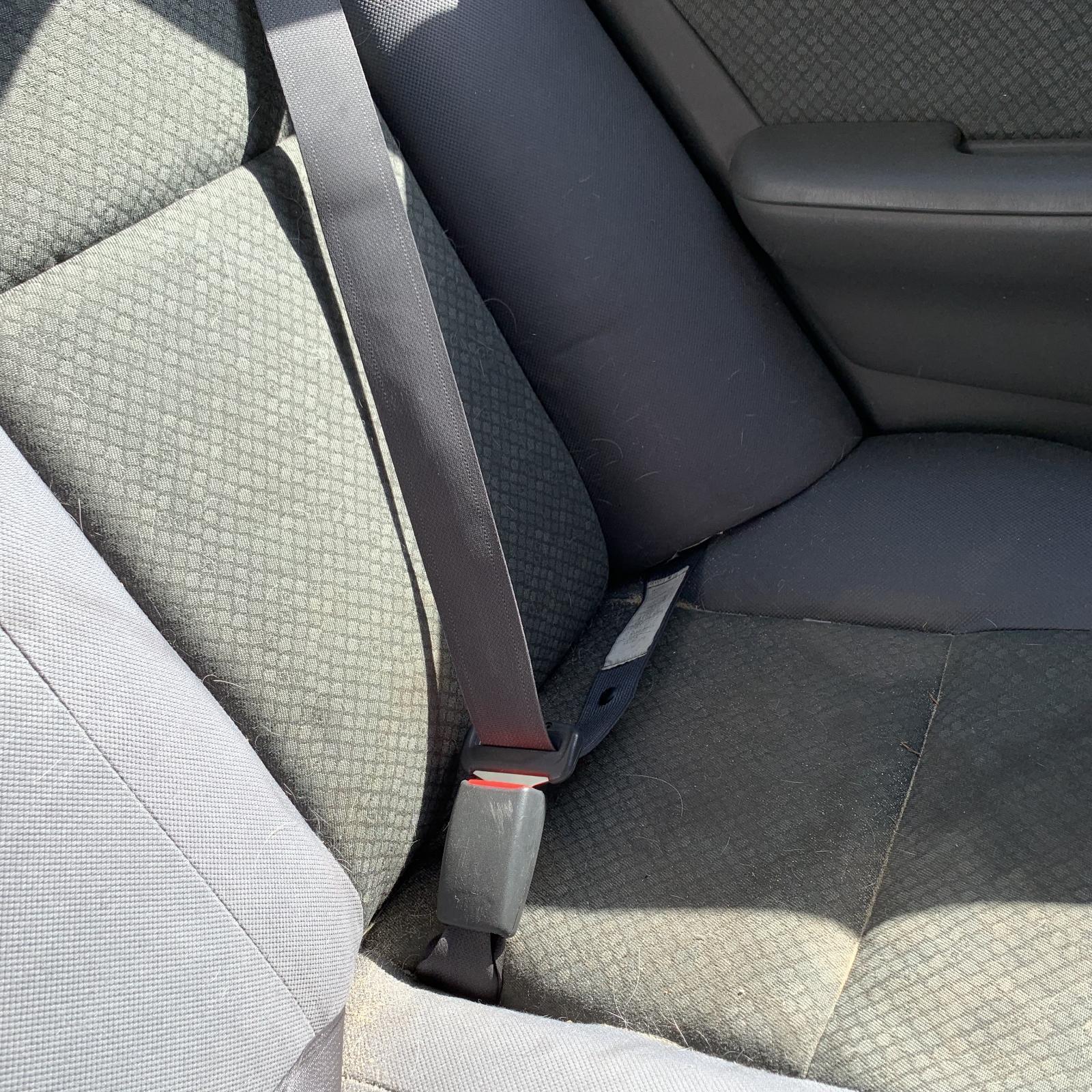 TOYOTA COROLLA, Seatbelt/Stalk, LH REAR, SEAT BELT STALK ONLY, SEDAN, ZZE122, 12/01-06/07