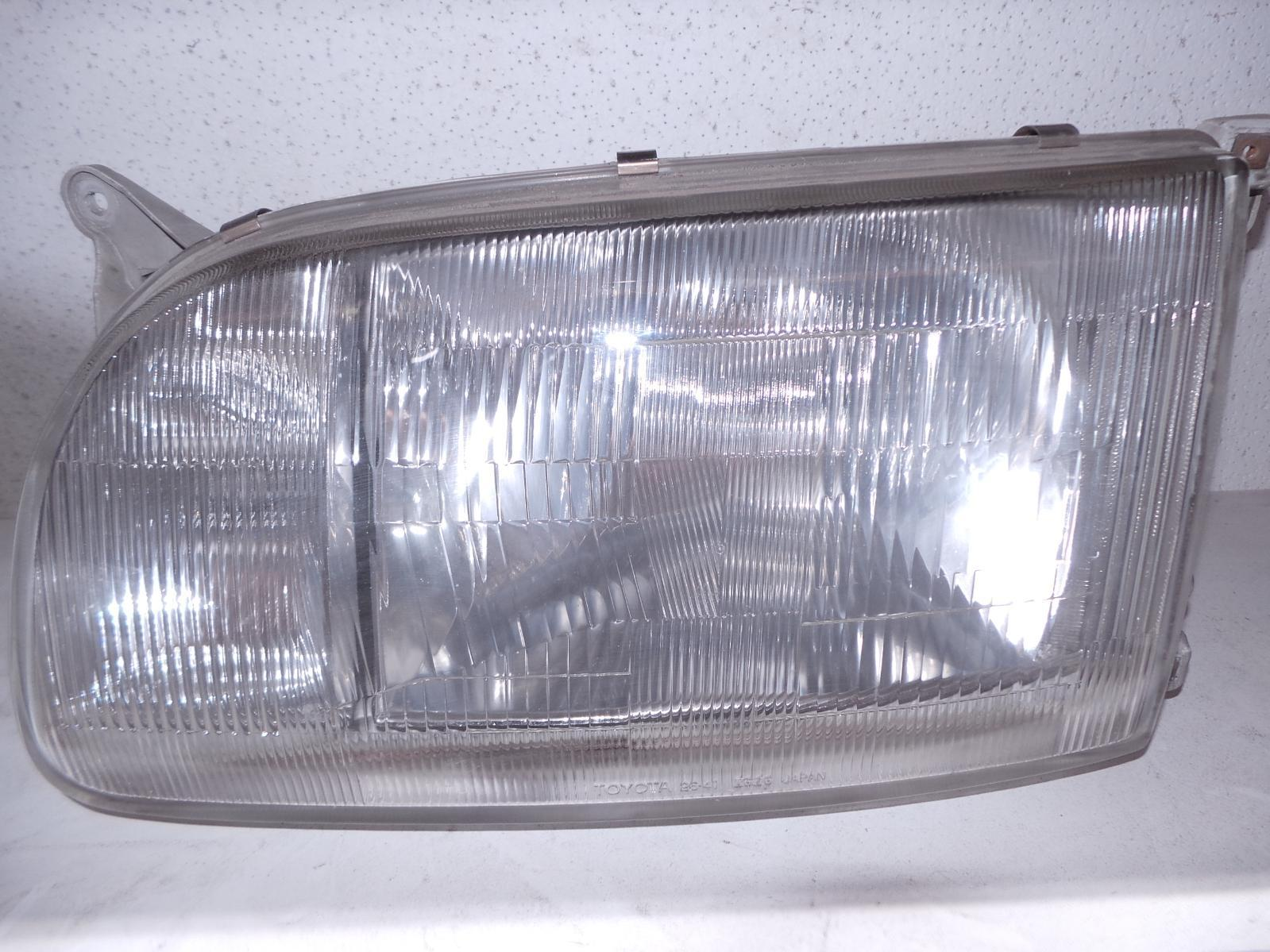 TOYOTA HIACE, Left Headlamp, SUPER CUSTOM, JAP TYPE, LENS# 26-41, 93-96 (NZ ONLY)