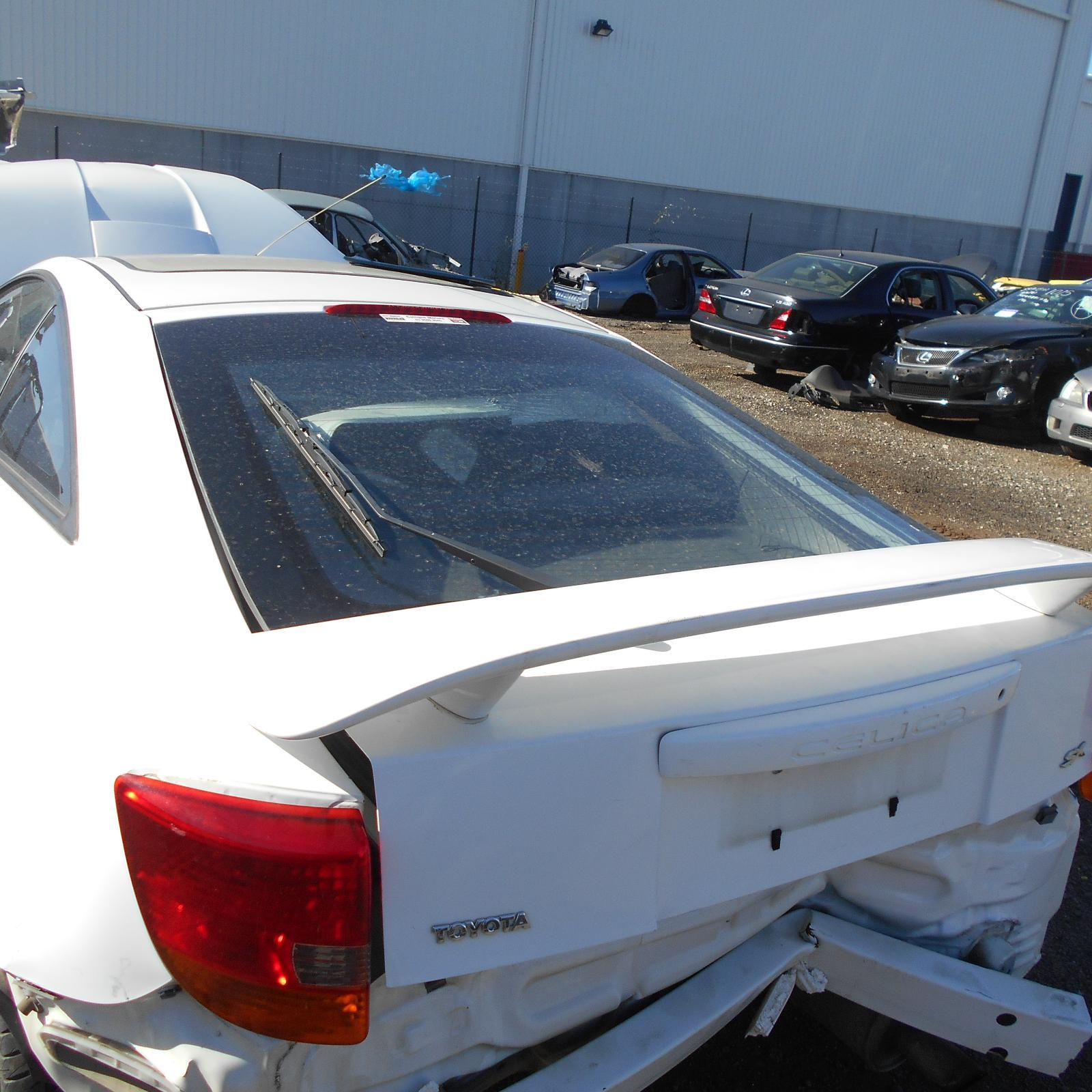 TOYOTA CELICA, Bootlid/Tailgate, TAILGATE, ZZT231, SPOILERED TYPE, 11/99-10/05