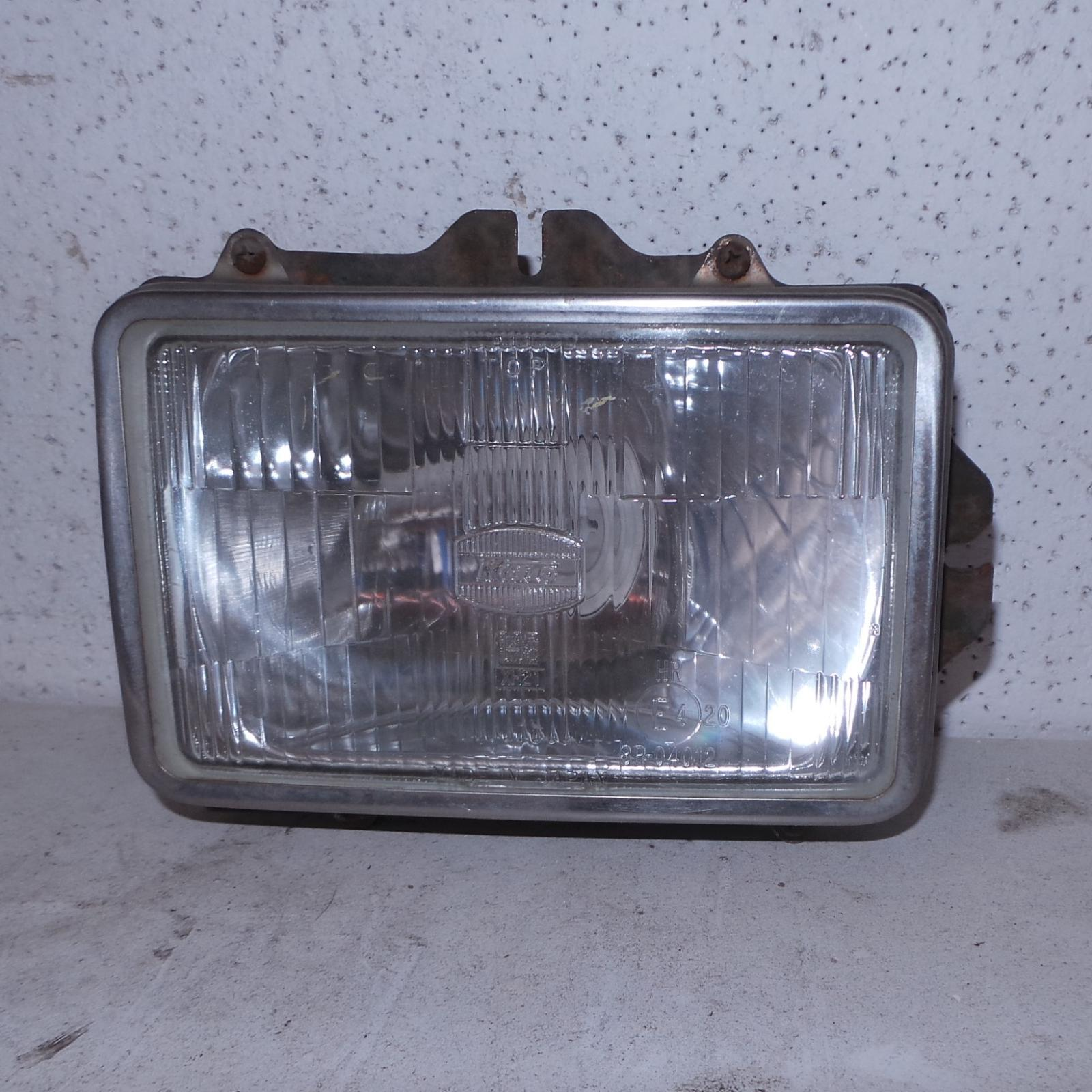 TOYOTA LANDCRUISER, Right Headlamp, 80 SERIES, GX/GXL, TWIN SQUARE, 05/90-03/98