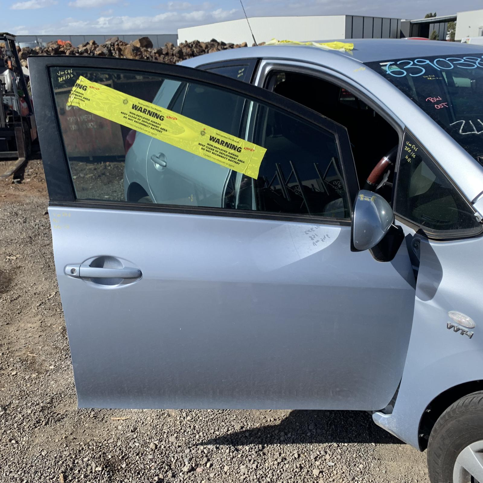 TOYOTA COROLLA, Right Front Door, ZRE152R, HATCH, 03/07-09/12