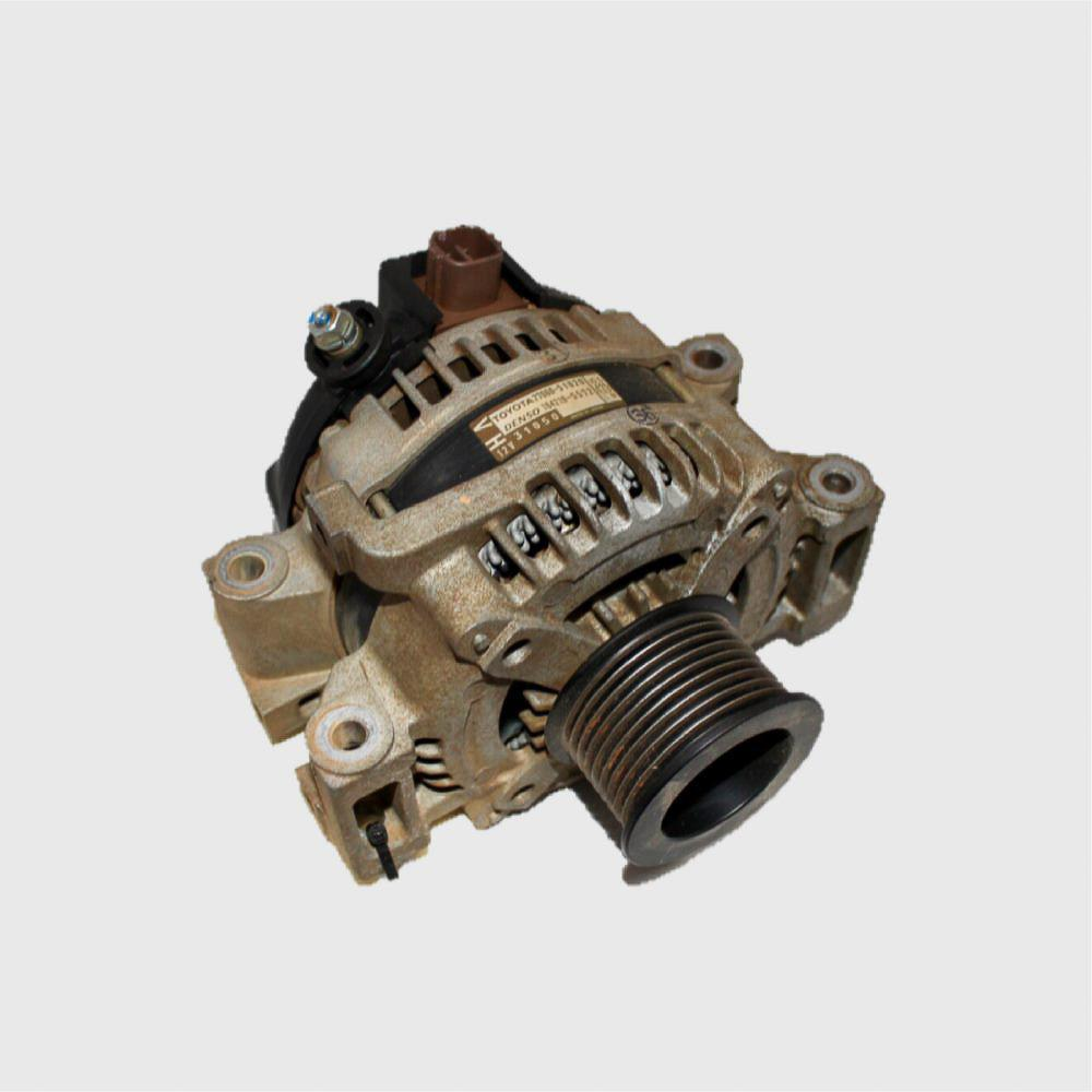 TOYOTA LANDCRUISER, Alternator, 200 SERIES, DIESEL, 4.5, 1VD-FTV, TWIN TURBO, 11/07-