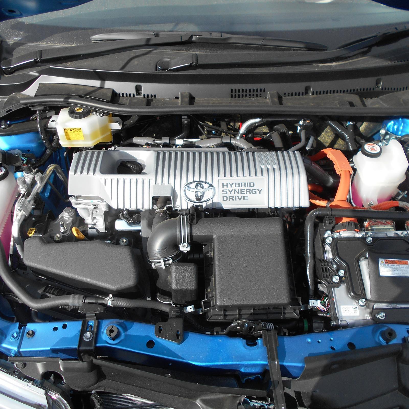 TOYOTA COROLLA, Engine, PETROL, 1.8, 2ZR-FXE, HYBRID, ZWE186R, 06/16-