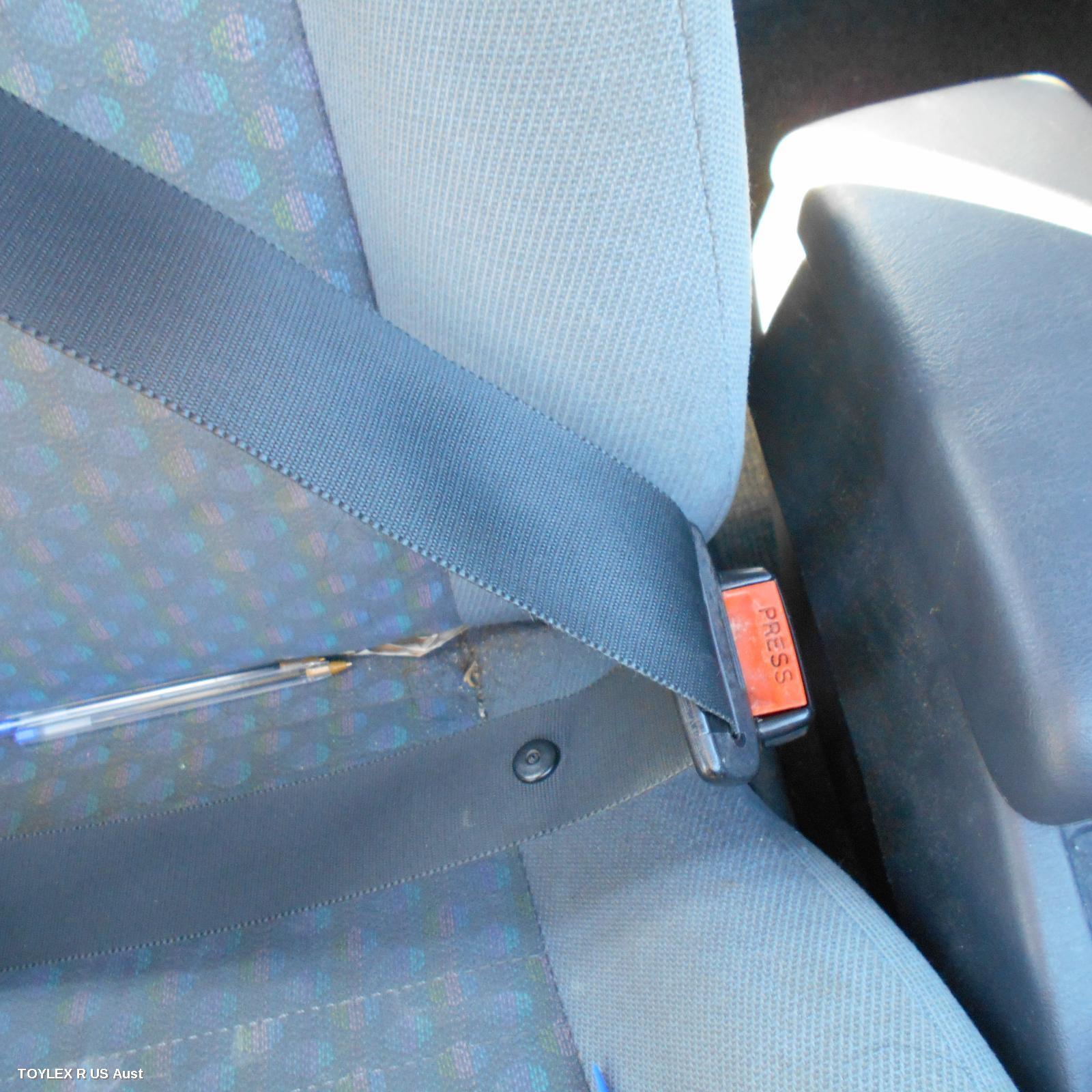 TOYOTA COROLLA, Seatbelt/Stalk, RH FRONT, SEAT BELT STALK ONLY, HATCH, AE101, 05/92-10/99