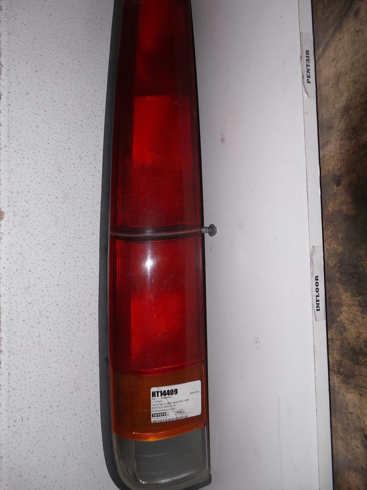 TOYOTA SPACIA, Left Taillight, SR40 02/98-12/98