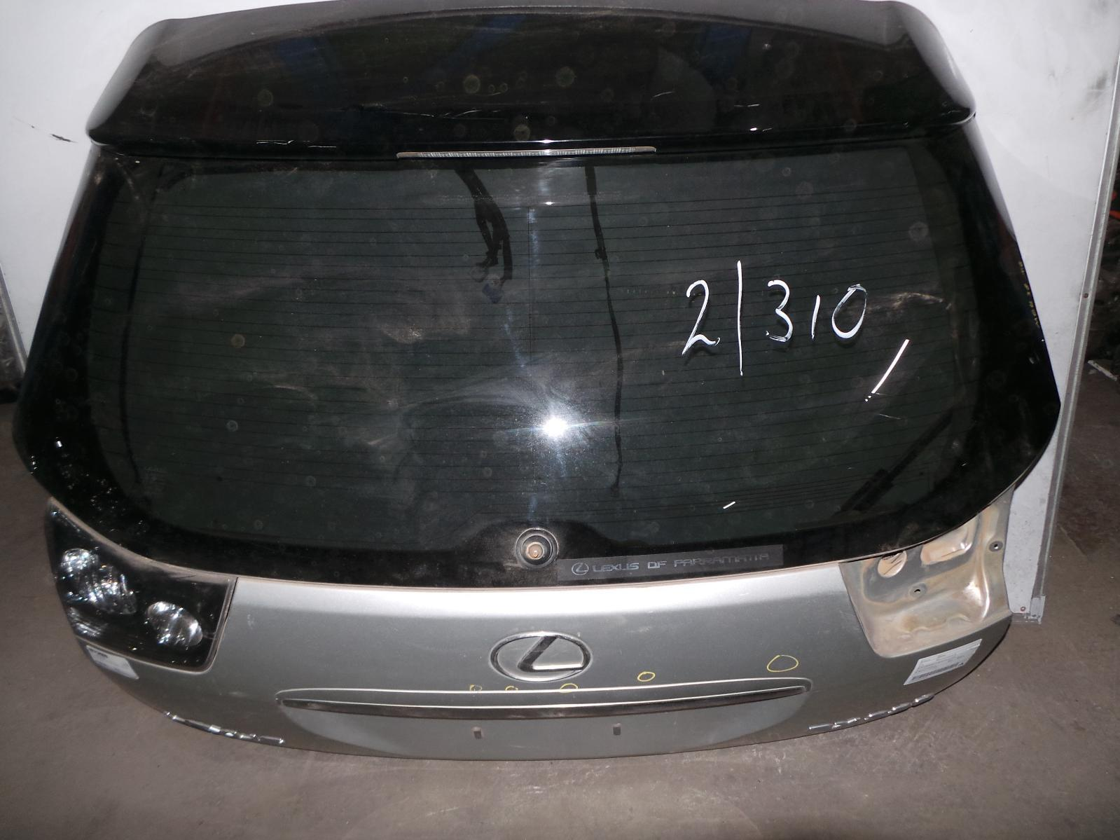 LEXUS RX330, Bootlid/Tailgate, TAILGATE, W/ POWER LIFTGATE TYPE, 04/03-12/05