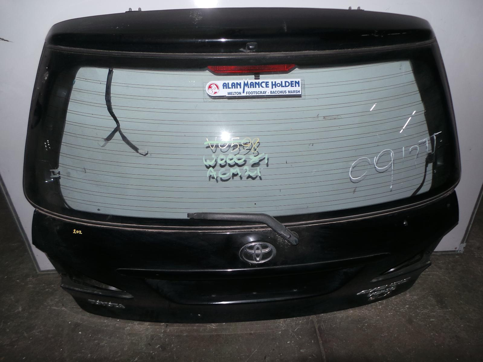 TOYOTA AVENSIS, Bootlid/Tailgate, ACM2#R, NON SPOILER TYPE, 12/01-12/10