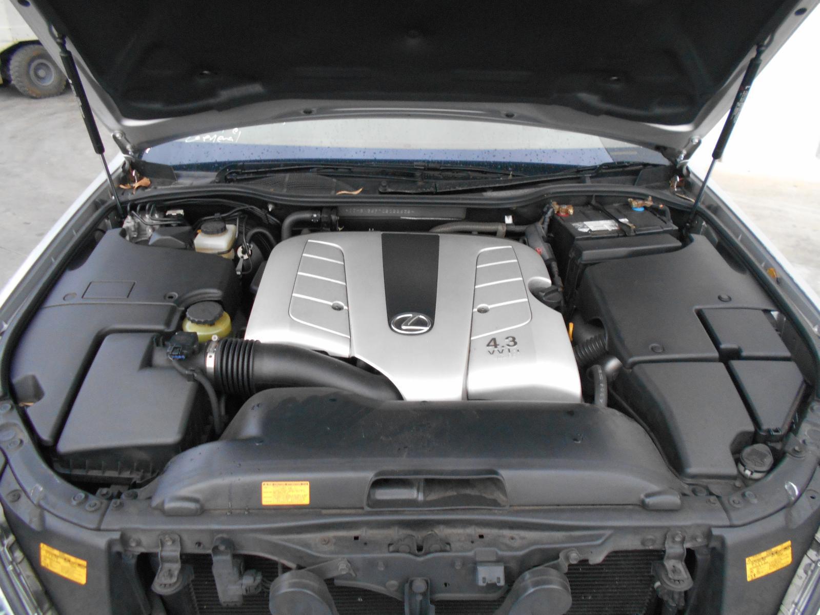 LEXUS LS430, Engine, PETROL, 4.3, 3UZ, UCF30R, 12/00-03/07
