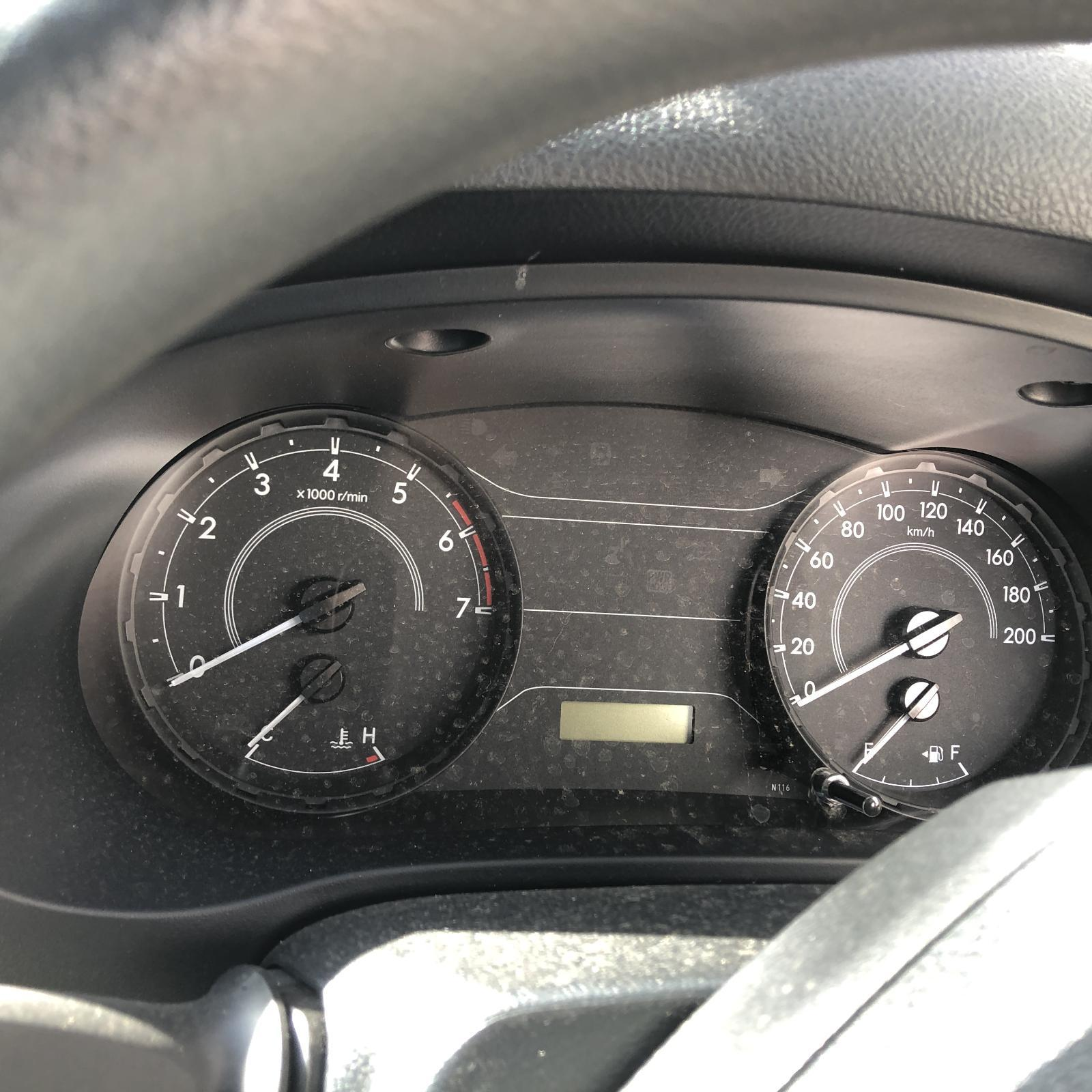 TOYOTA HILUX, Instrument Cluster, INSTRUMENT CLUSTER, PETROL, AUTO T/M, WORKMATE, 09/15-