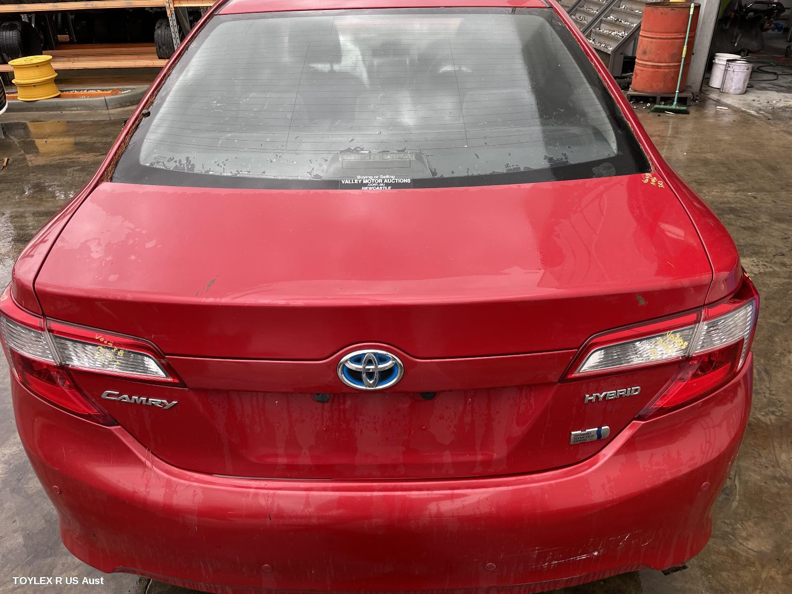 TOYOTA CAMRY, Bootlid/Tailgate, BOOTLID, AVV50, HYBRID H, NON SPOILER, W/ CAMERA TYPE, 01/12-