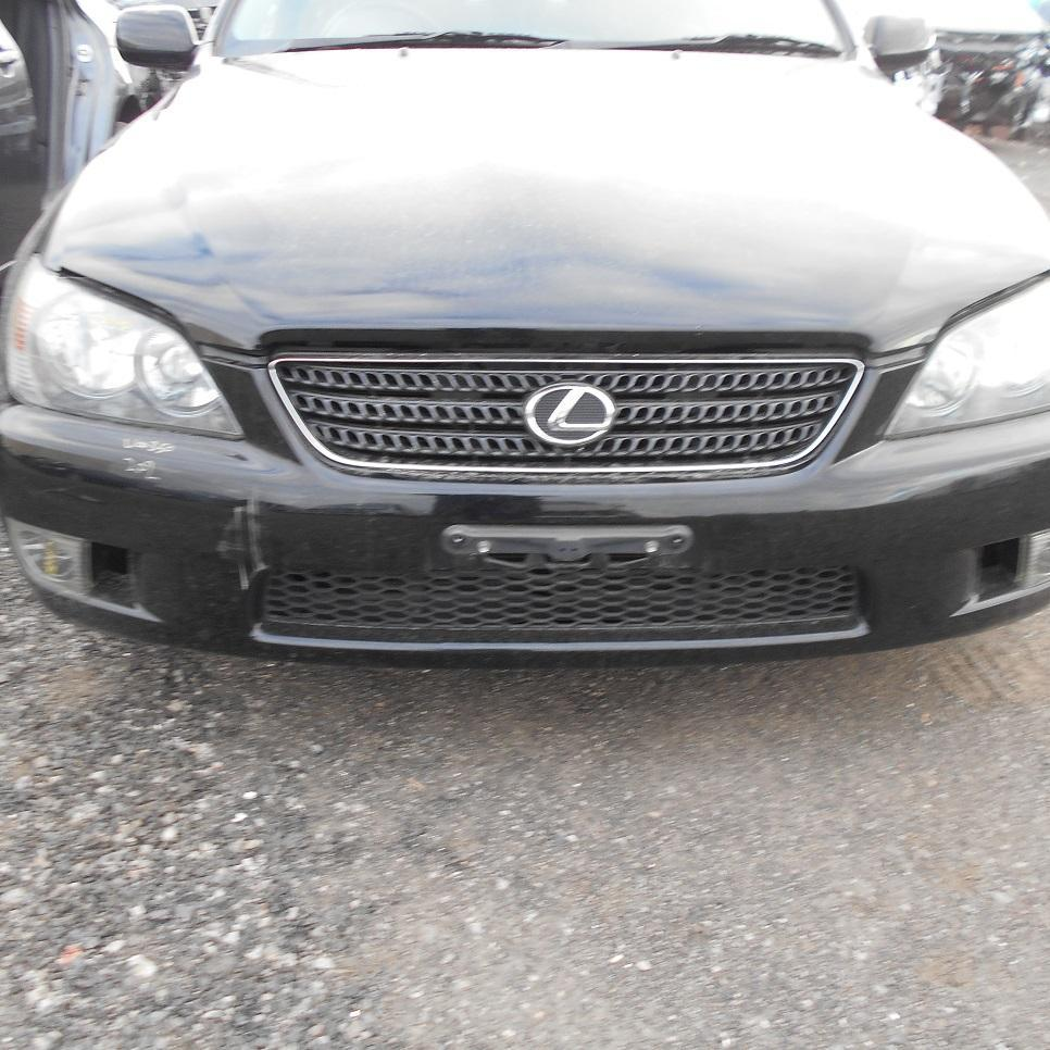 LEXUS IS200/IS300, Front Bumper, IS200, GXE10R, NON H/LAMP WASHER TYPE, 01/98-10/05