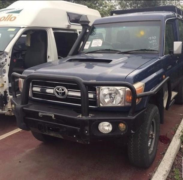 TOYOTA LANDCRUISER, Right Front Strut, LOOK/ENTER UNDER SHOCK ABSORBER***SEE PART TYPE TX***