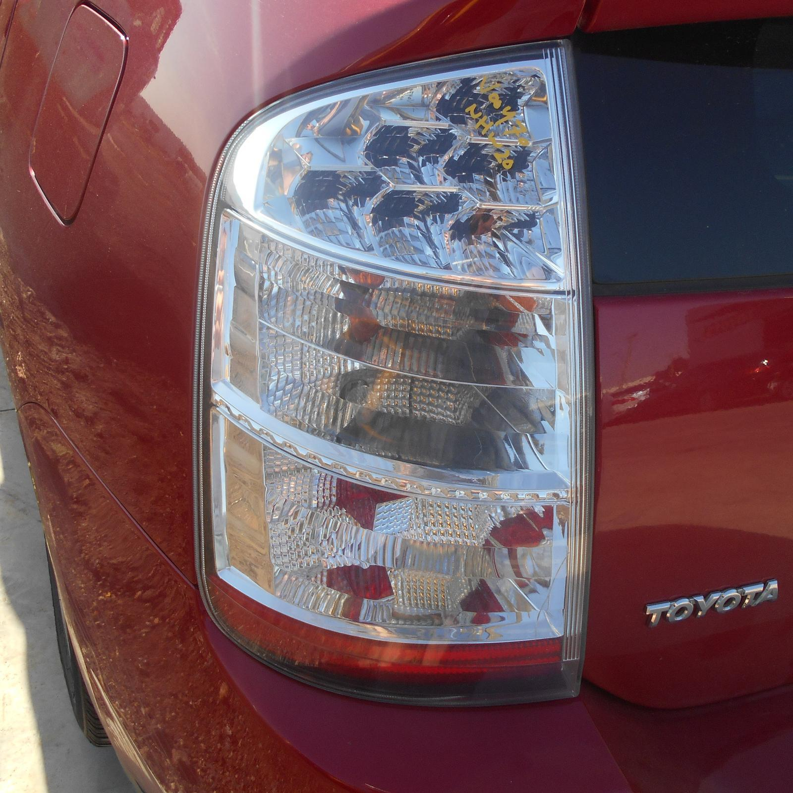 TOYOTA PRIUS, Left Taillight, NHW20R, CLEAR, LENS# 4713, 11/05-04/09