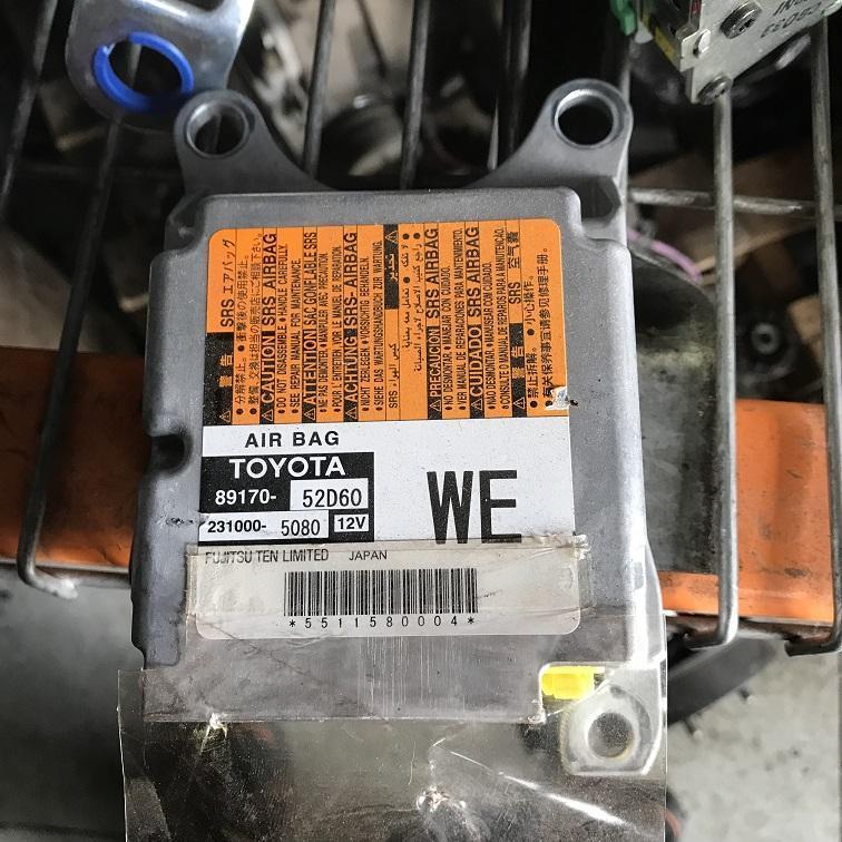 TOYOTA YARIS, Airbag Module/Sensor, MODULE, NCP9#, P/N 8917052D60, 10/08-