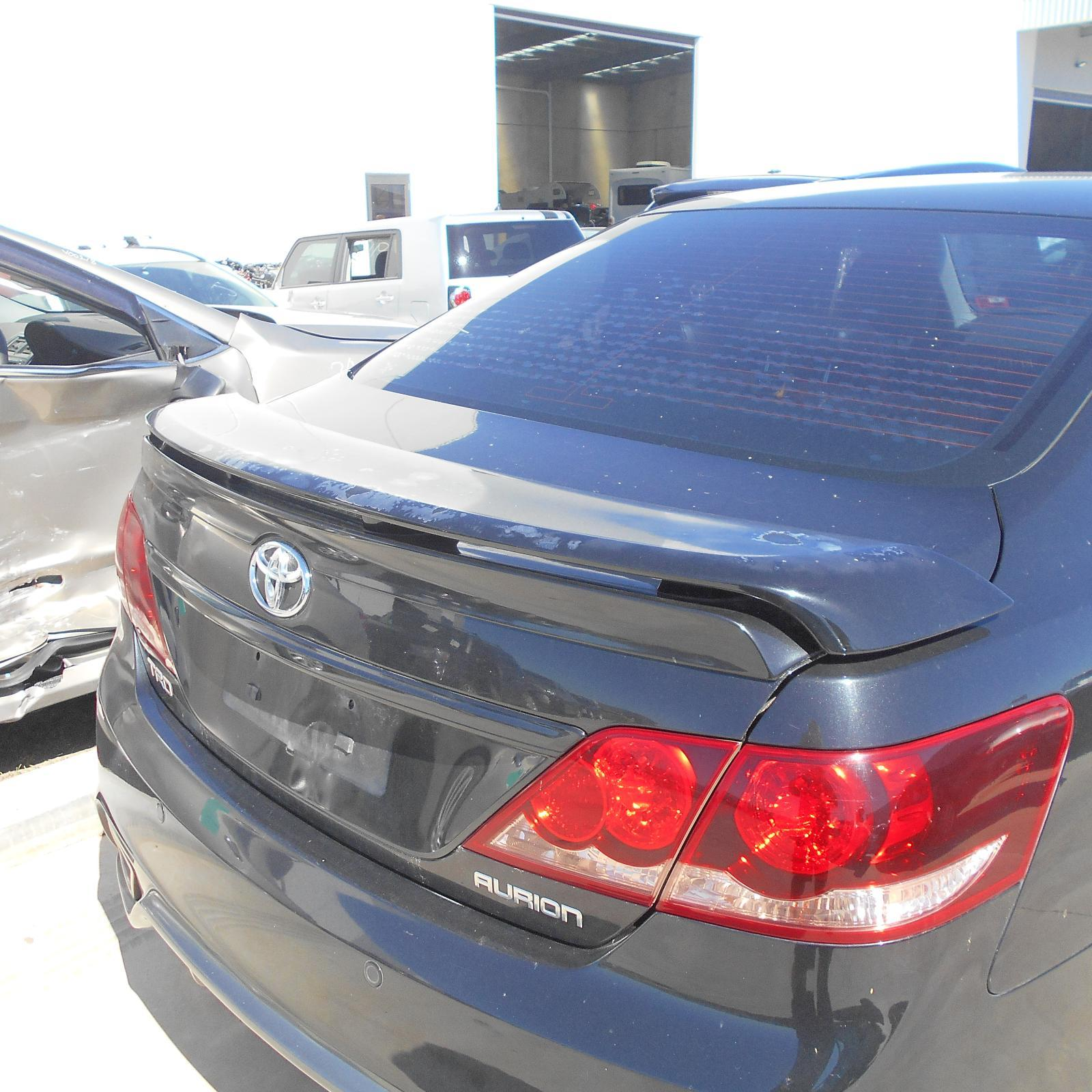 TOYOTA AURION, Bootlid/Tailgate, BOOTLID, GSV40R, LIP SPOILER, W/ CAMERA TYPE, 10/06-03/12