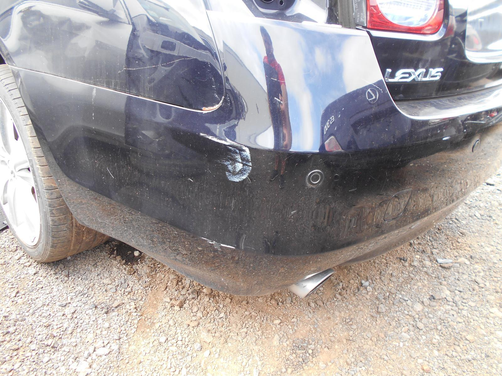 LEXUS GS, Rear Bumper, 190 SERIES, 02/08-12/11