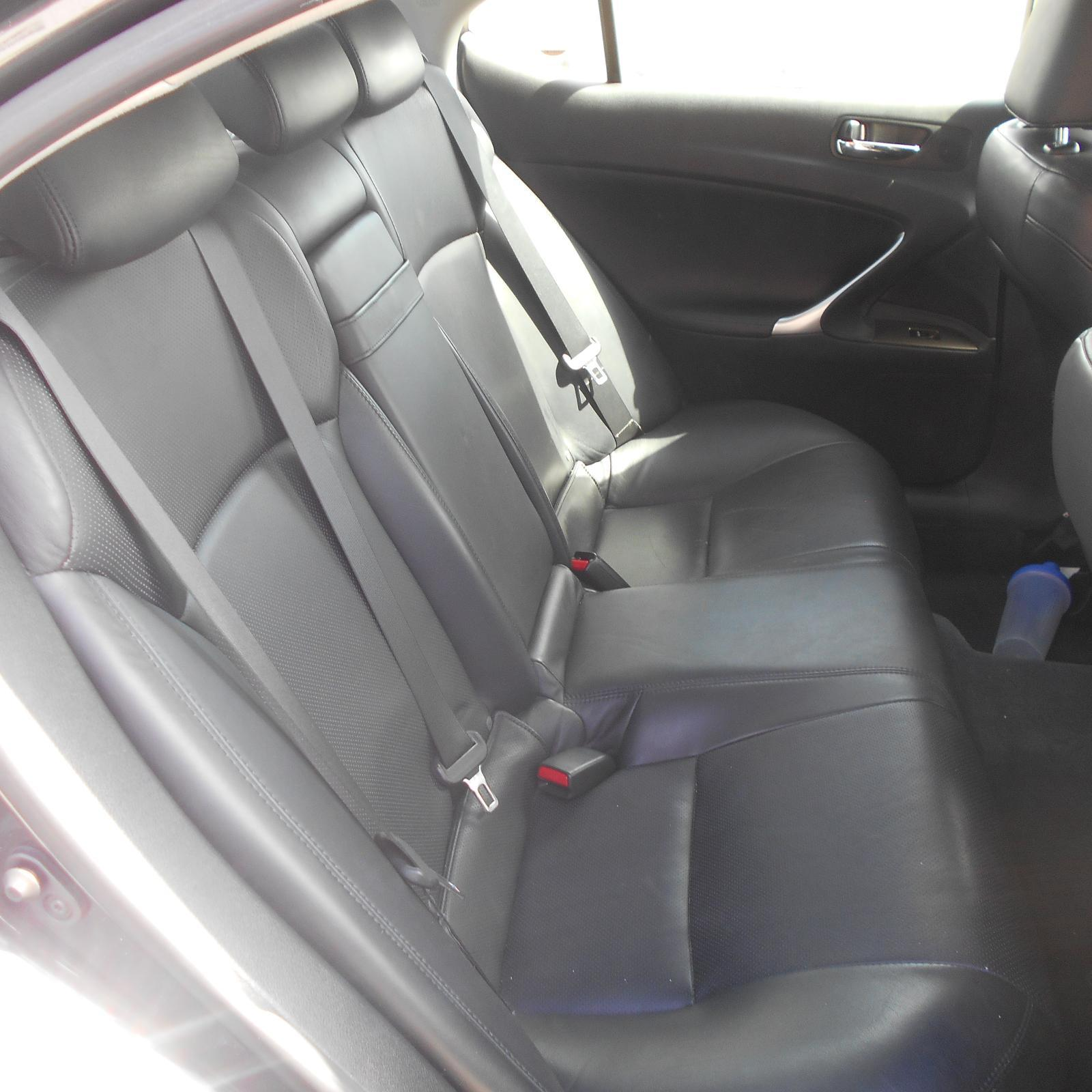 LEXUS IS250/IS250C, 2nd Seat (Rear Seat), GSE20R, IS250/IS350, LEATHER, 11/05-06/13