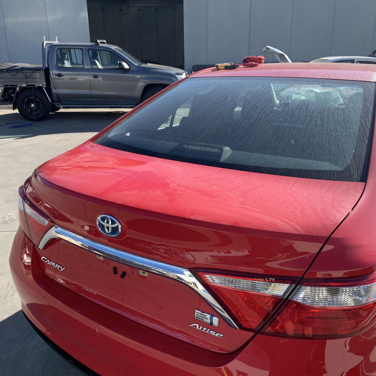TOYOTA CAMRY, Bootlid/Tailgate, BOOTLID, ACV50, ALTISE/ATARA S, NON LIP SPOILER TYPE, 05/15-10/17