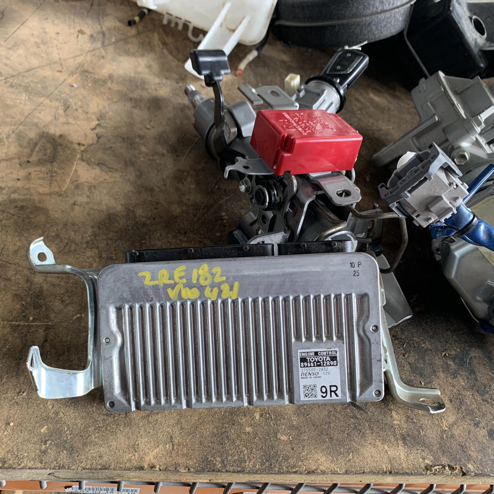 TOYOTA COROLLA, Ecu, ENGINE ECU, AUTO T/M TYPE, ECU ONLY, ZRE182R, 10/12-