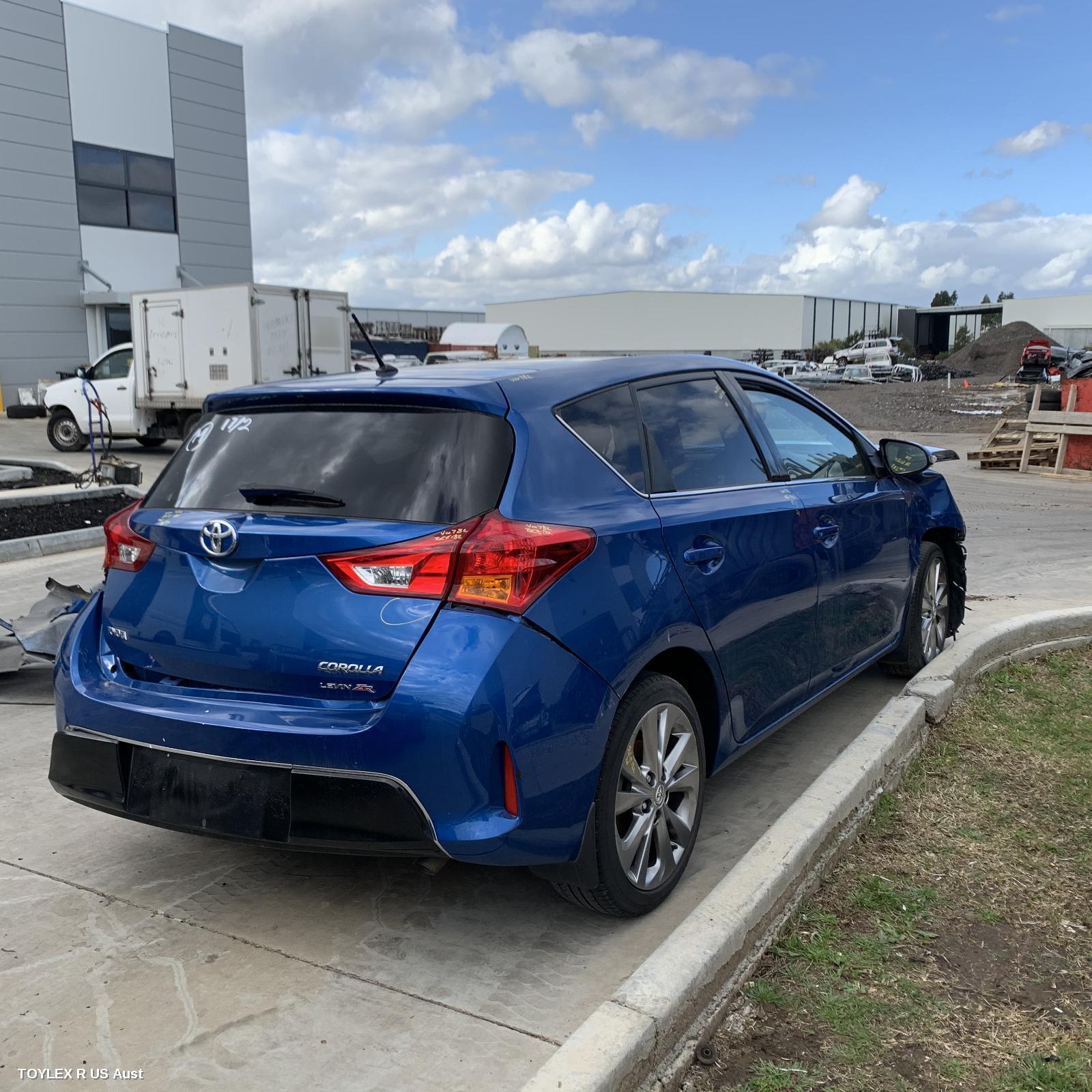 Toyota COROLLA LEVIN ZR ZRE182R 2ZR-FE 1.8L Engine Automatic FWD Transmission 10/12 - 06/18