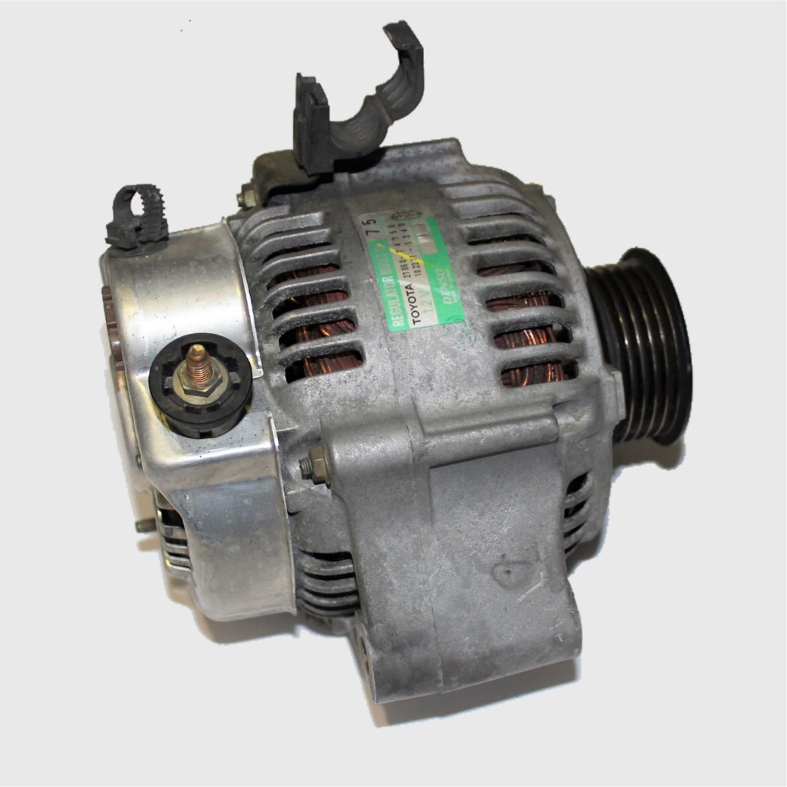 TOYOTA RAV4, Alternator, 2.0, 3SF, NIPPON DENSO, SXA1#R, 10/97-07/00