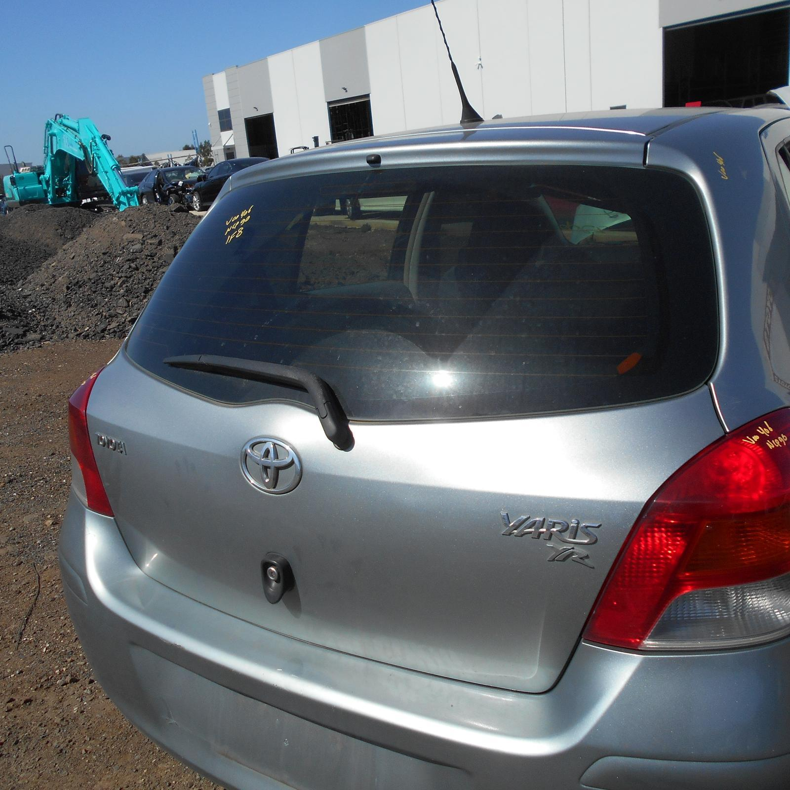 TOYOTA YARIS, Bootlid/Tailgate, TAILGATE, NCP9#, HATCH, NON SPOILER TYPE, 10/05-10/11 (AUS ONLY)