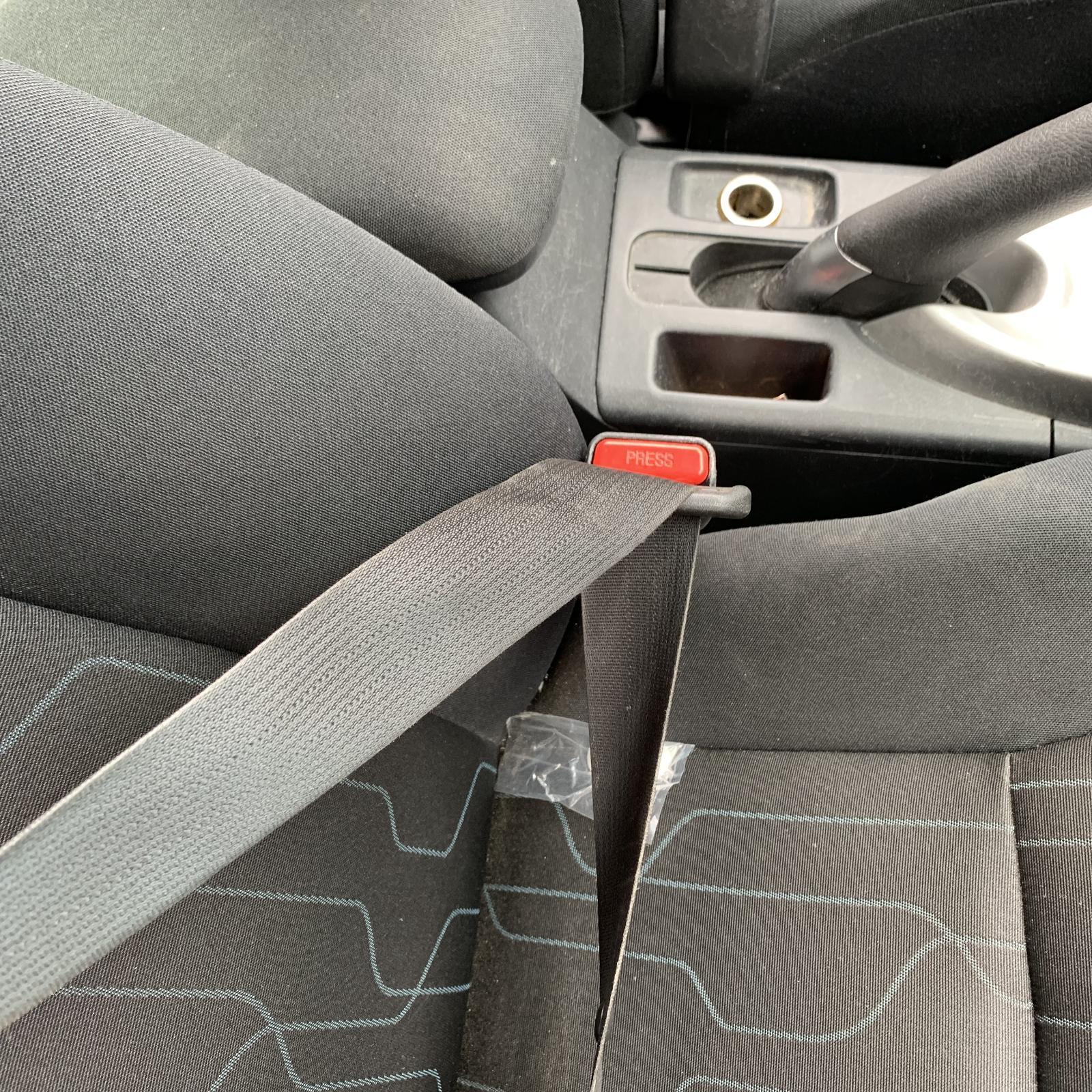 TOYOTA COROLLA, Seatbelt/Stalk, RH FRONT, SEAT BELT ONLY, ZRE152/153R, 03/07-10/13