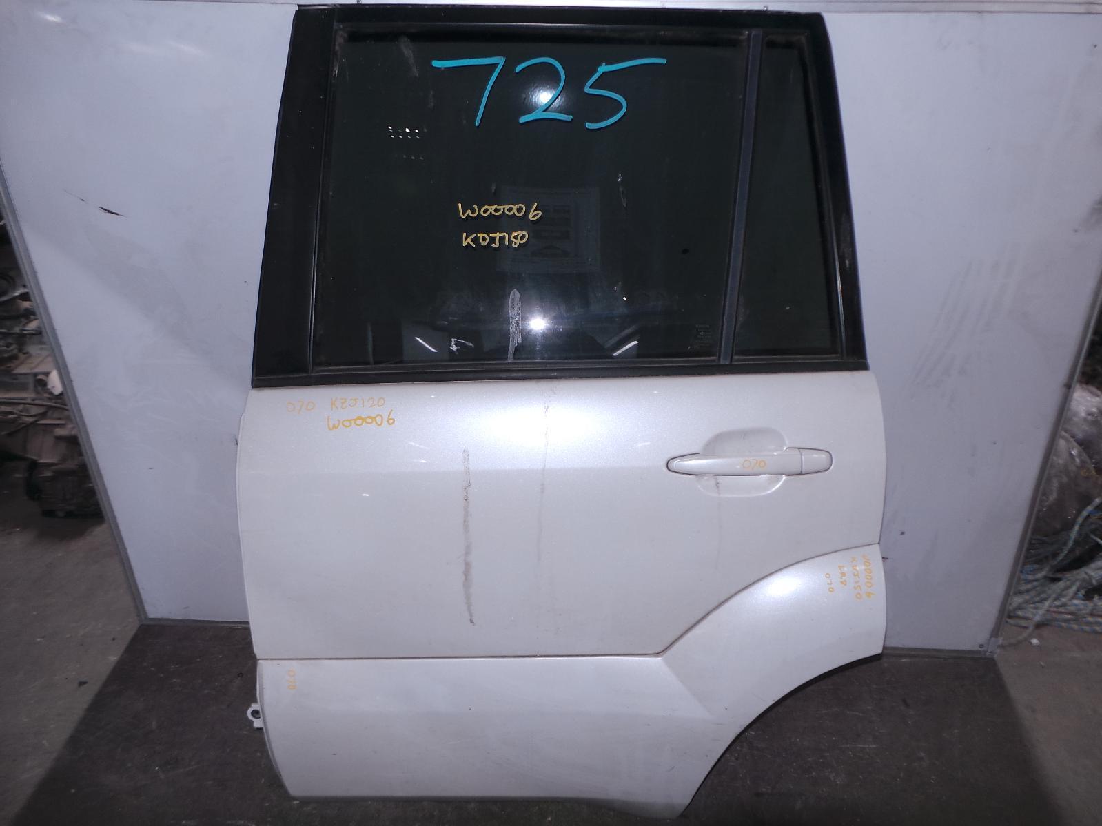 TOYOTA PRADO, Left Rear Door/Sliding, 120 SERIES, W/ FLARE TYPE, 02/03-10/09