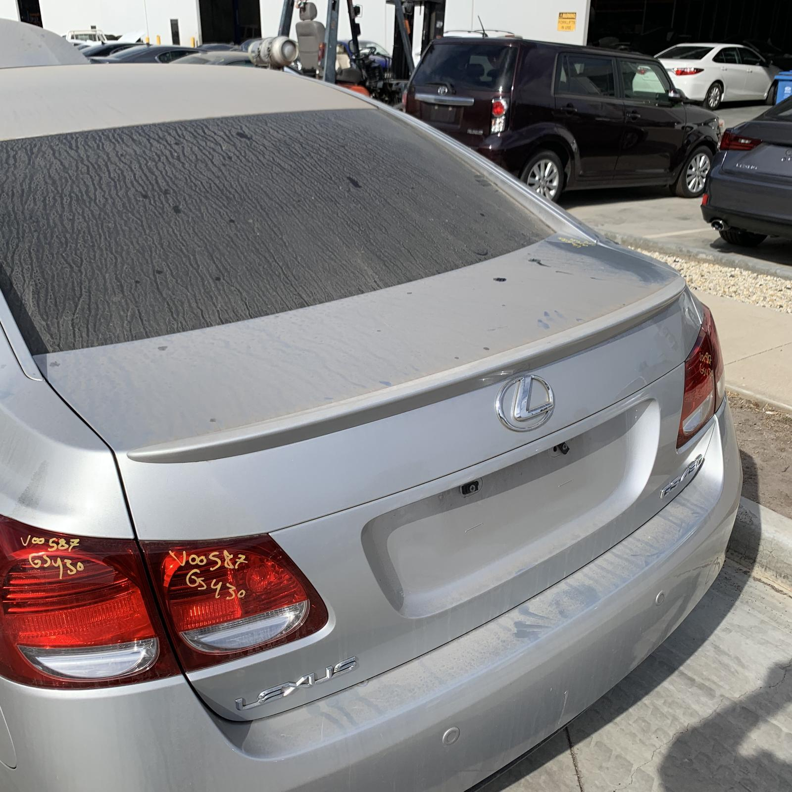 LEXUS GS, Bootlid/Tailgate, BOOTLID, 190 SERIES, SPOILERED TYPE, W/ CAMERA, 03/05-12/11